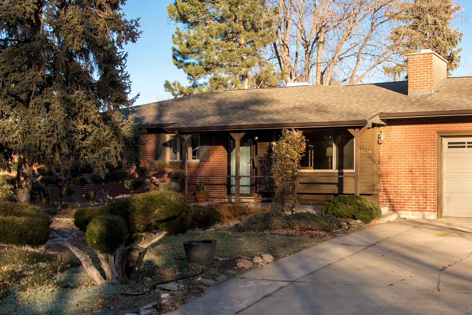 Single Family Home for Active at This classic brick ranch in Applewood, Golden is a must see! 13436 W 22nd Place Golden, Colorado 80401 United States