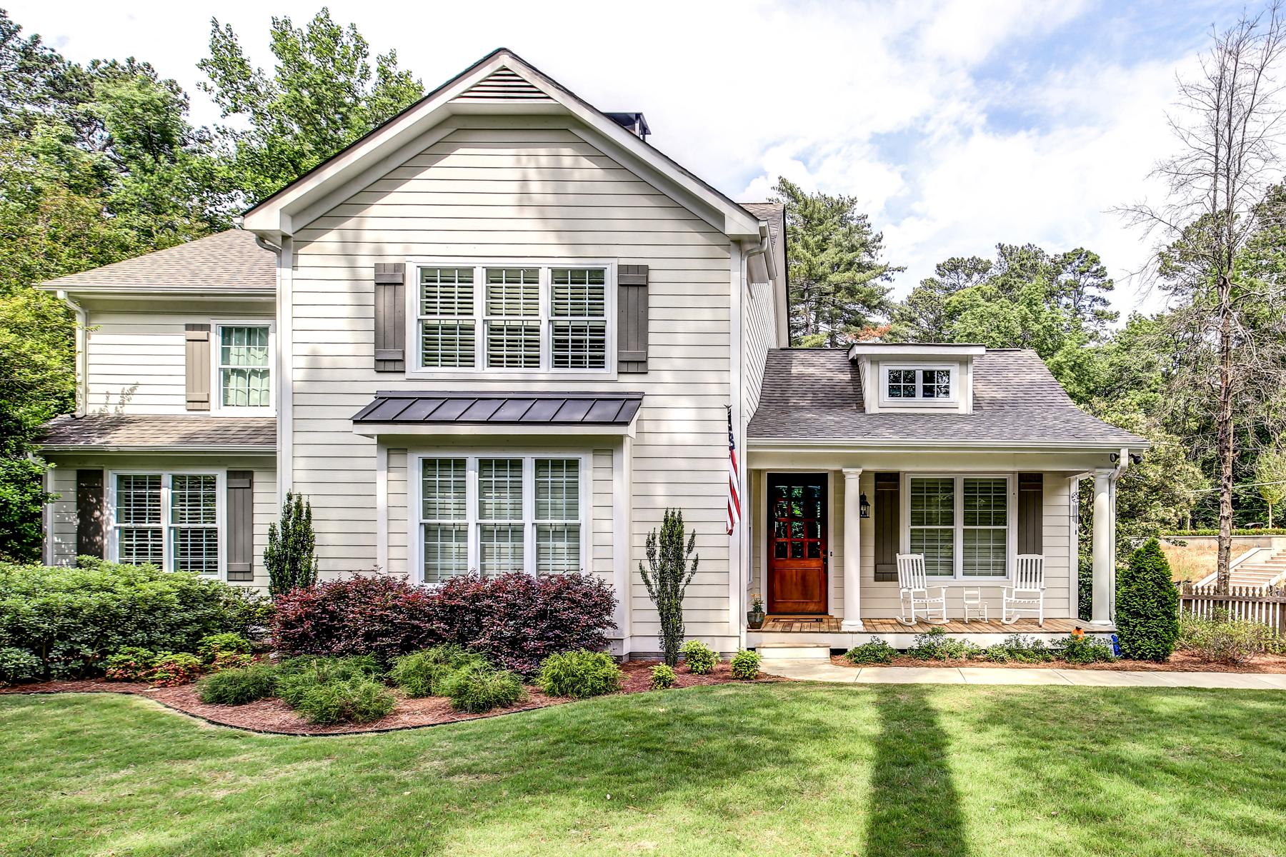 Single Family Home for Sale at Custom Built Beauty 4264 Peachtree Dunwoody Road NE Buckhead, Atlanta, Georgia, 30342 United States