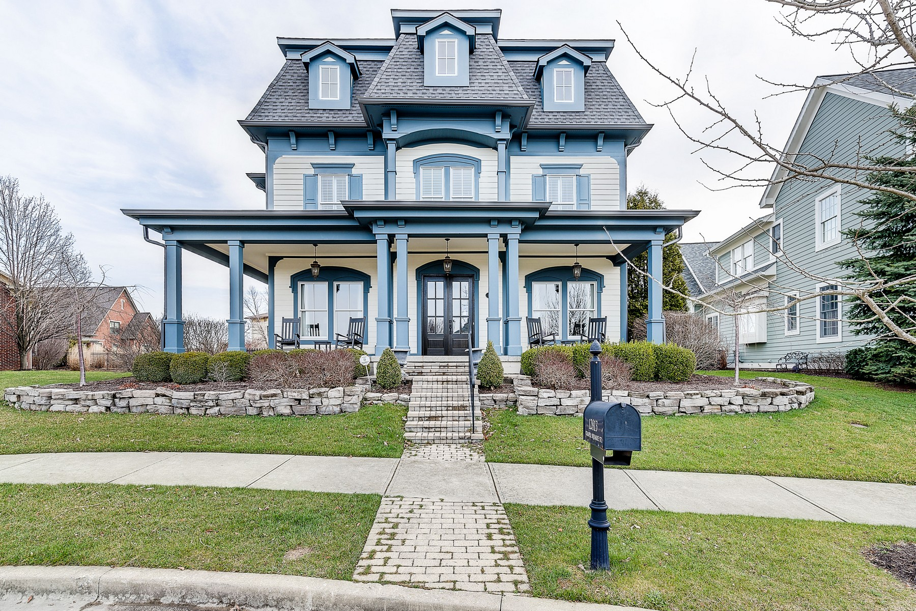 single family homes for Active at Gorgeous Home in Carmel 12813 Chapel Square Street Carmel, Indiana 46032 United States