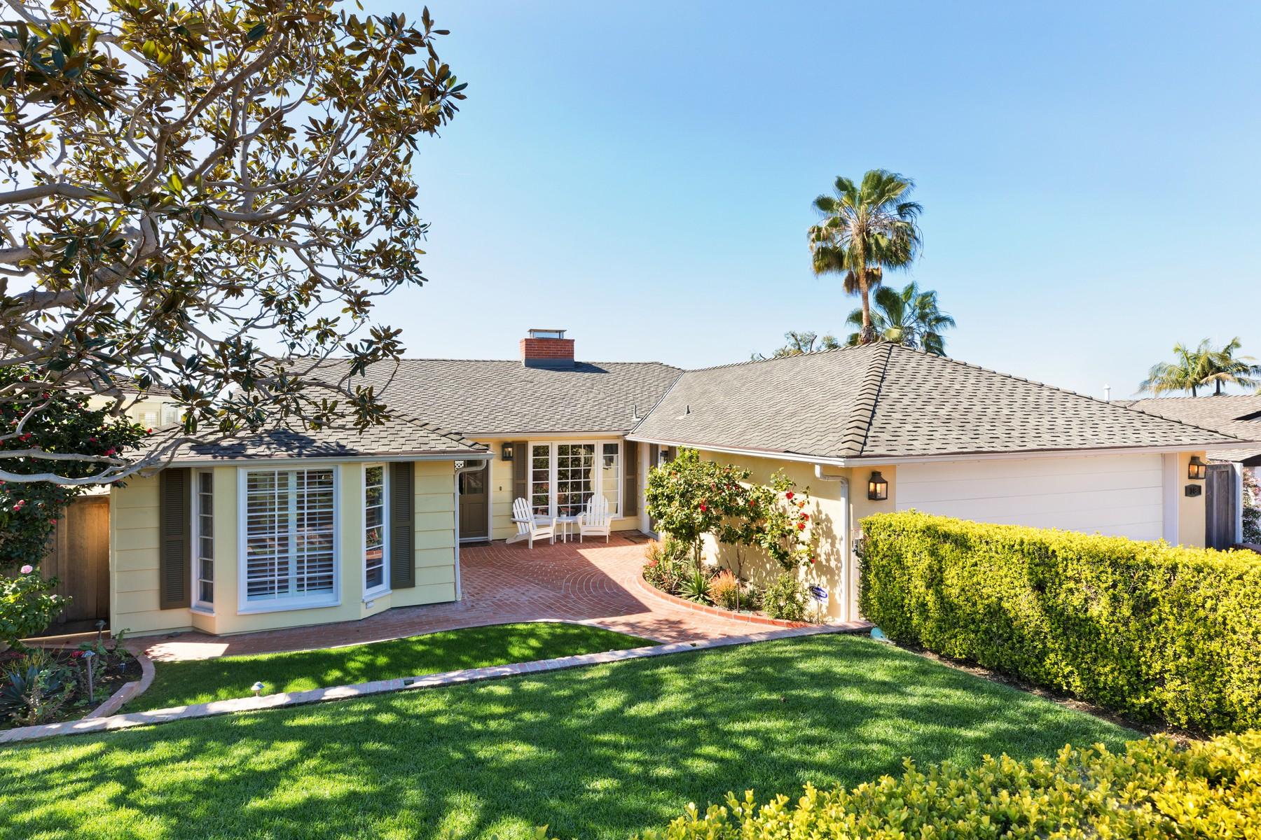 Maison unifamiliale pour l Vente à 18 N. Encino Laguna Beach, Californie, 92651 États-Unis