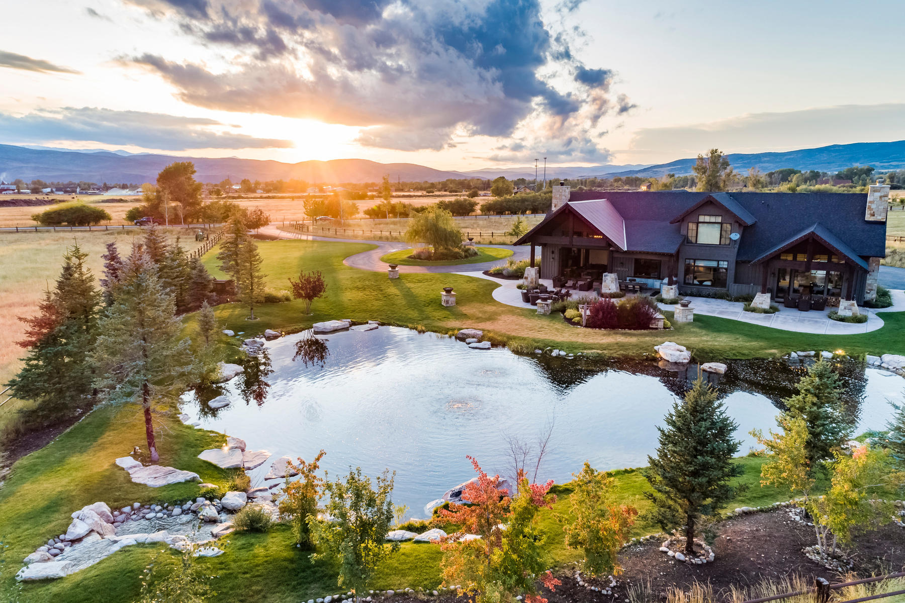 Farm / Ranch / Plantation for Active at Gorgeous Twilight Moon Ranch in Oakley, Utah 425 E Boulderville Rd Oakley, Utah 84055 United States