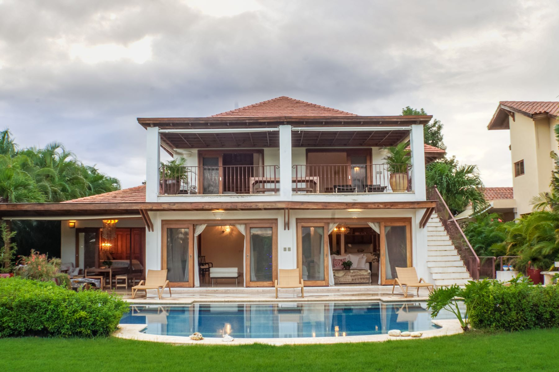 Single Family Home for Sale at Feel the Thrill of Action at this Polo view villa Casa De Campo, La Romana Dominican Republic