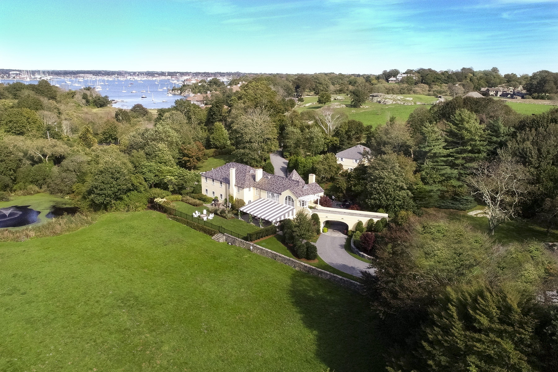 single family homes for Sale at Moorland Lodge 5 Hammersmith Road, Newport, Rhode Island 02840 United States