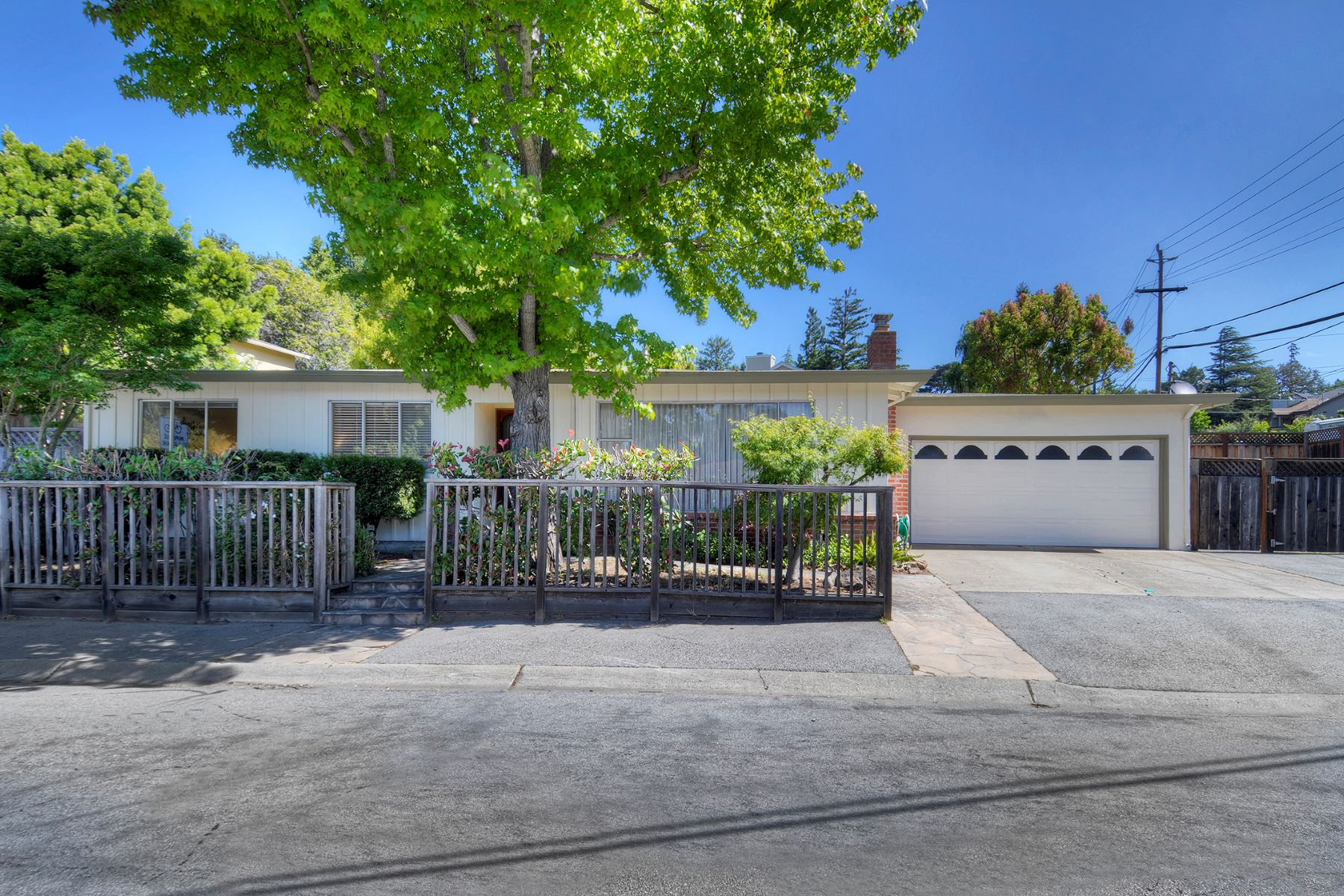 Single Family Homes for Active at Vintage Charm Throughout 2608 Cipriani Boulevard Belmont, California 94002 United States
