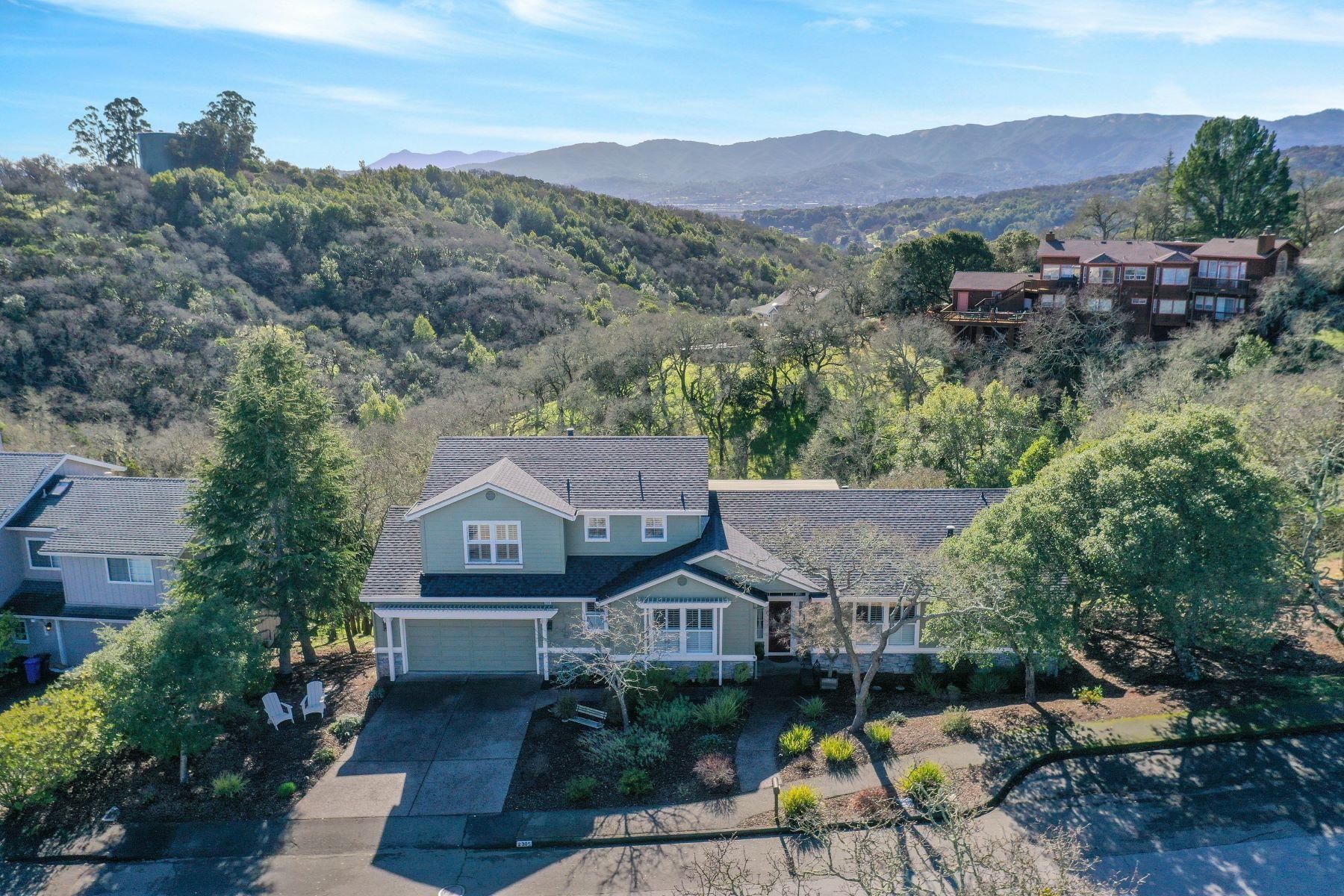 Single Family Homes for Sale at Privacy & Views 2305 Laguna Vista Drive Novato, California 94945 United States