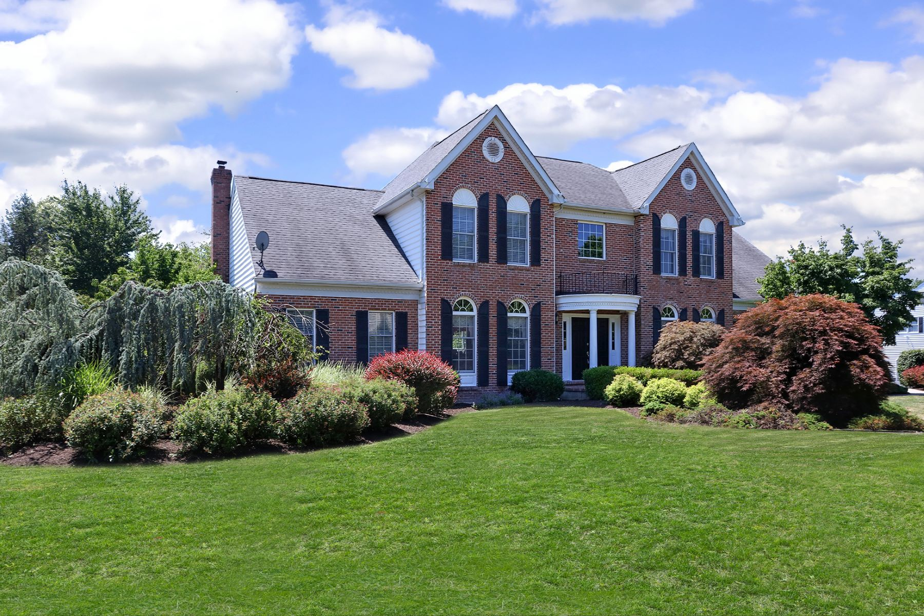 Single Family Home for Sale at A True Beauty in Hopewell Hunt 1 Caroline Drive, Princeton, New Jersey 08540 United States