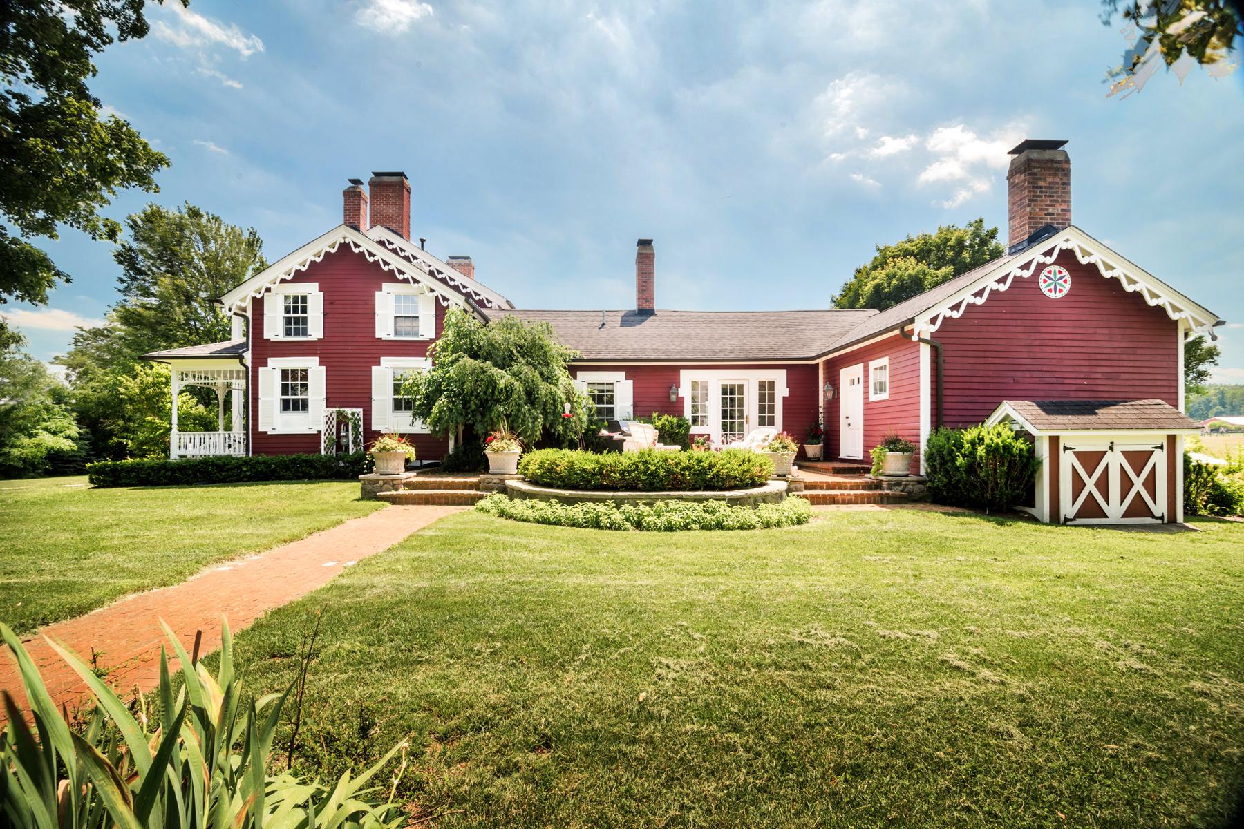 Single Family Homes for Sale at Metamora Township 5058 Barber Road Metamora, Michigan 48455 United States