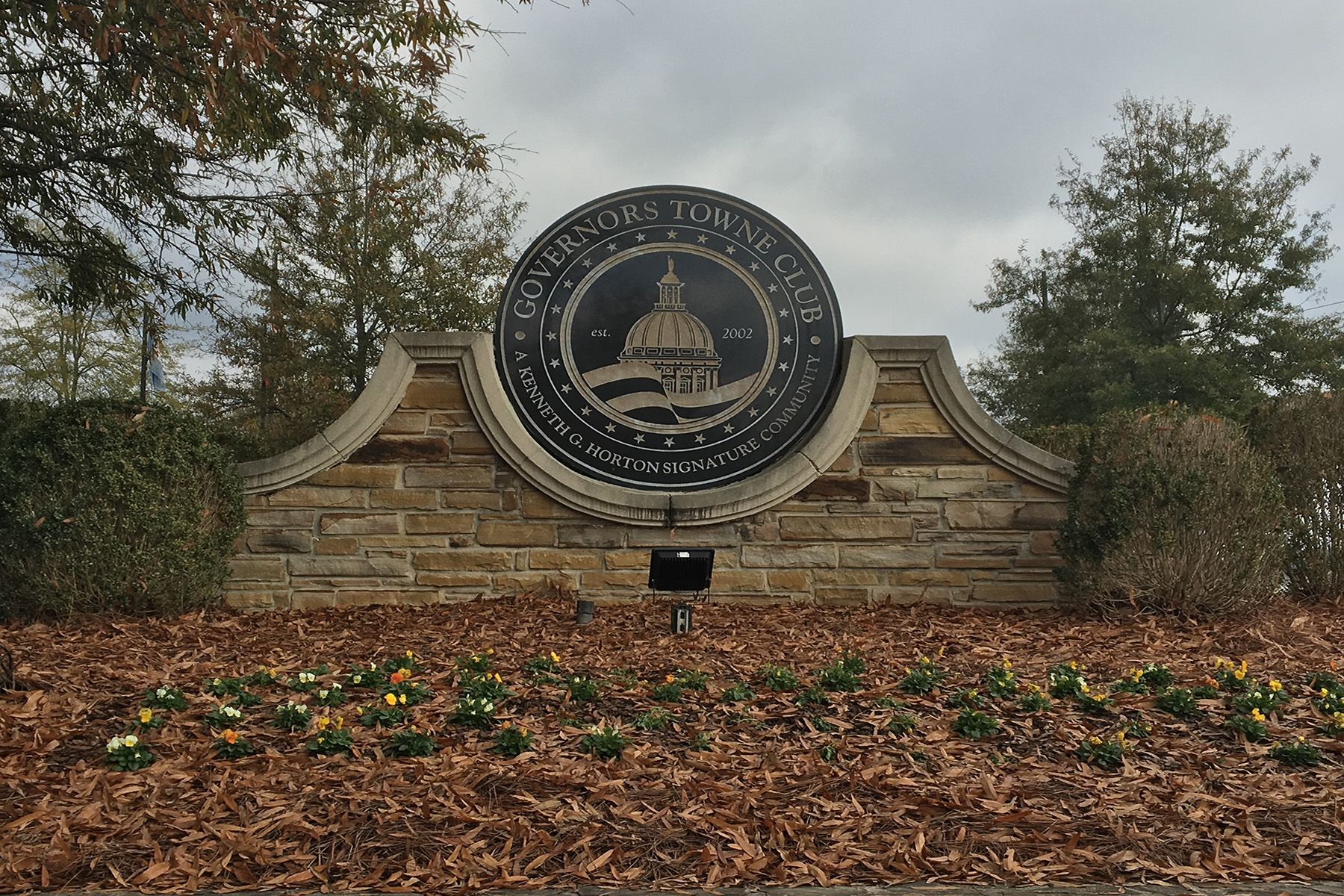 Land for Sale at Golf Course Lot Located In One of Atlanta's Most Prestigious Communities 6323 Howell Cobb Court, Acworth, Georgia, 30101 United States