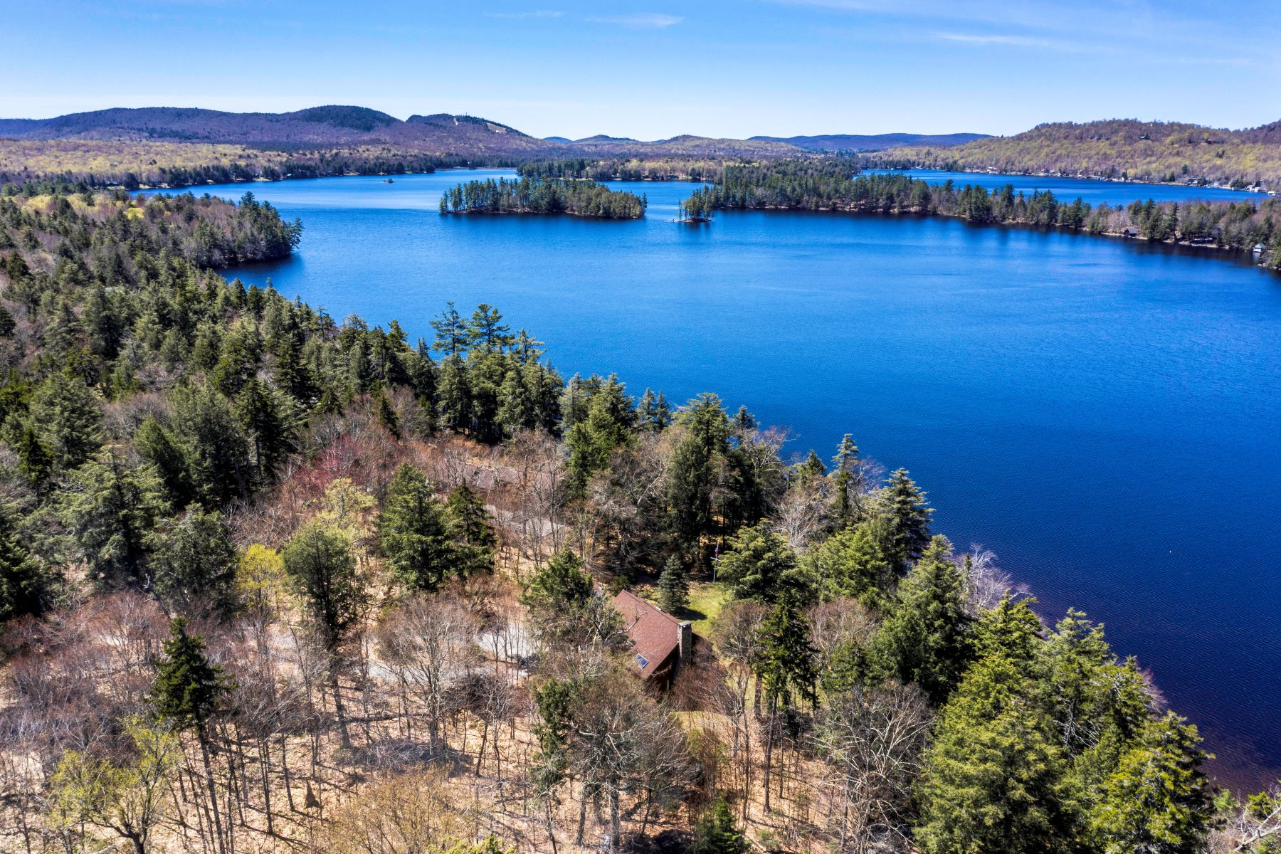 Single Family Homes for Active at Timberpeg Post and Beam Estate on Second Lake 205 Pine Acres Road Second Lake Old Forge, New York 13420 United States