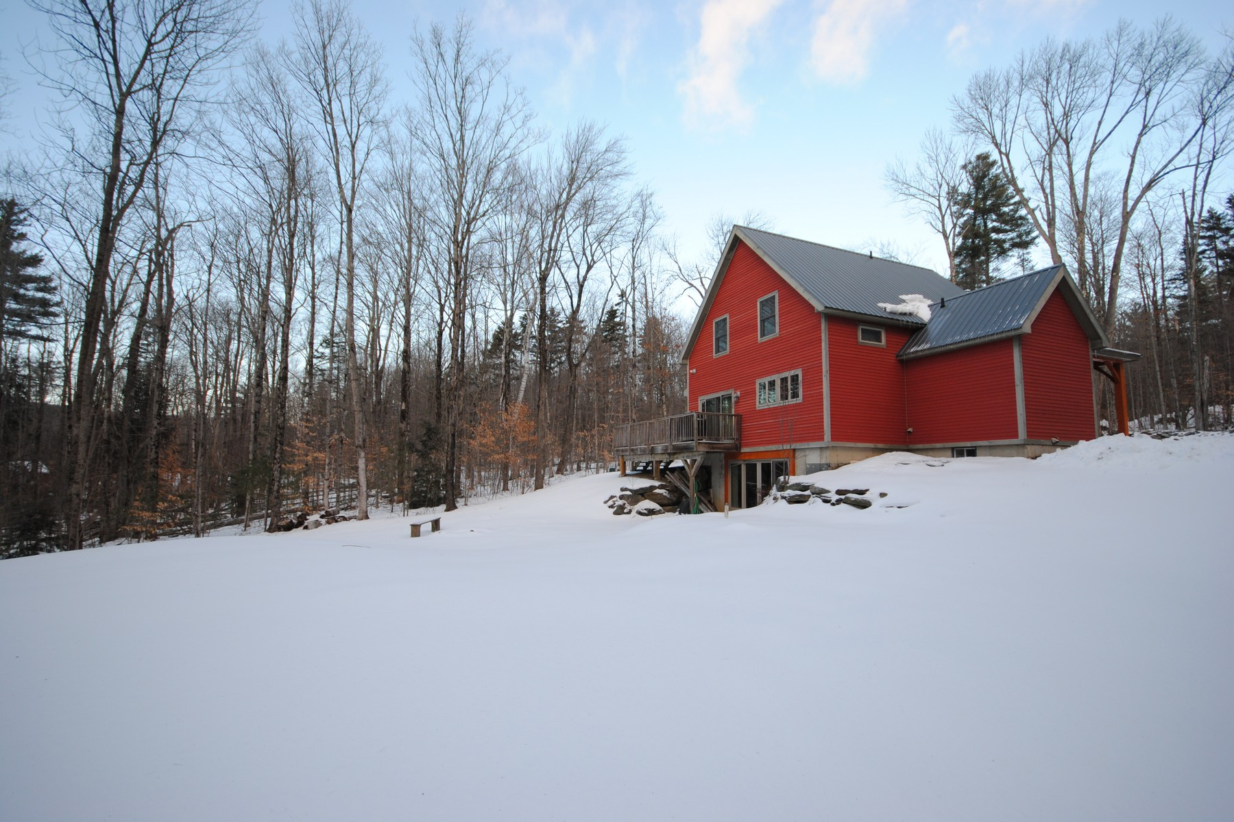 Single Family Homes for Sale at Close to Stratton and Mount Snow 108 Country Lane Wardsboro, Vermont 05355 United States