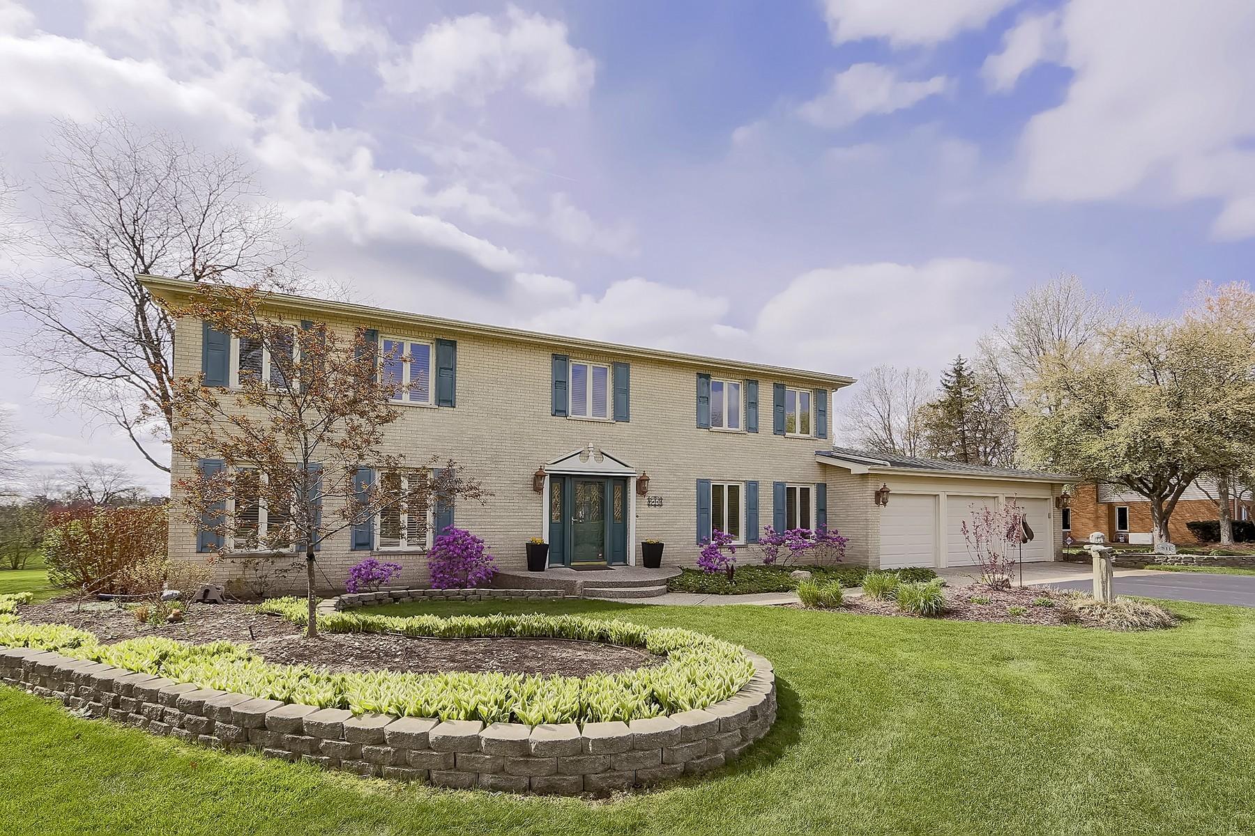 Maison unifamiliale pour l Vente à Prime Location 511 Rue Orleanais Deer Park, Illinois, 60010 États-Unis