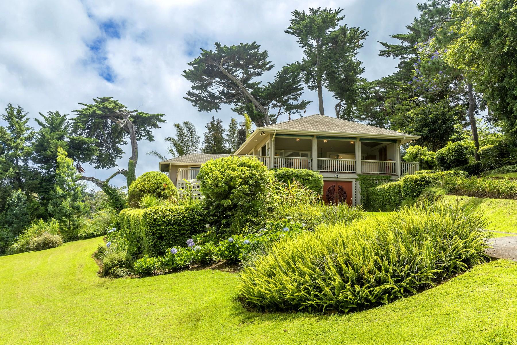 Casa multifamiliare per Vendita alle ore Gracious, Timeless, Charming...Kula Estate 64 Kawehi Place Kula, Hawaii, 96790 Stati Uniti