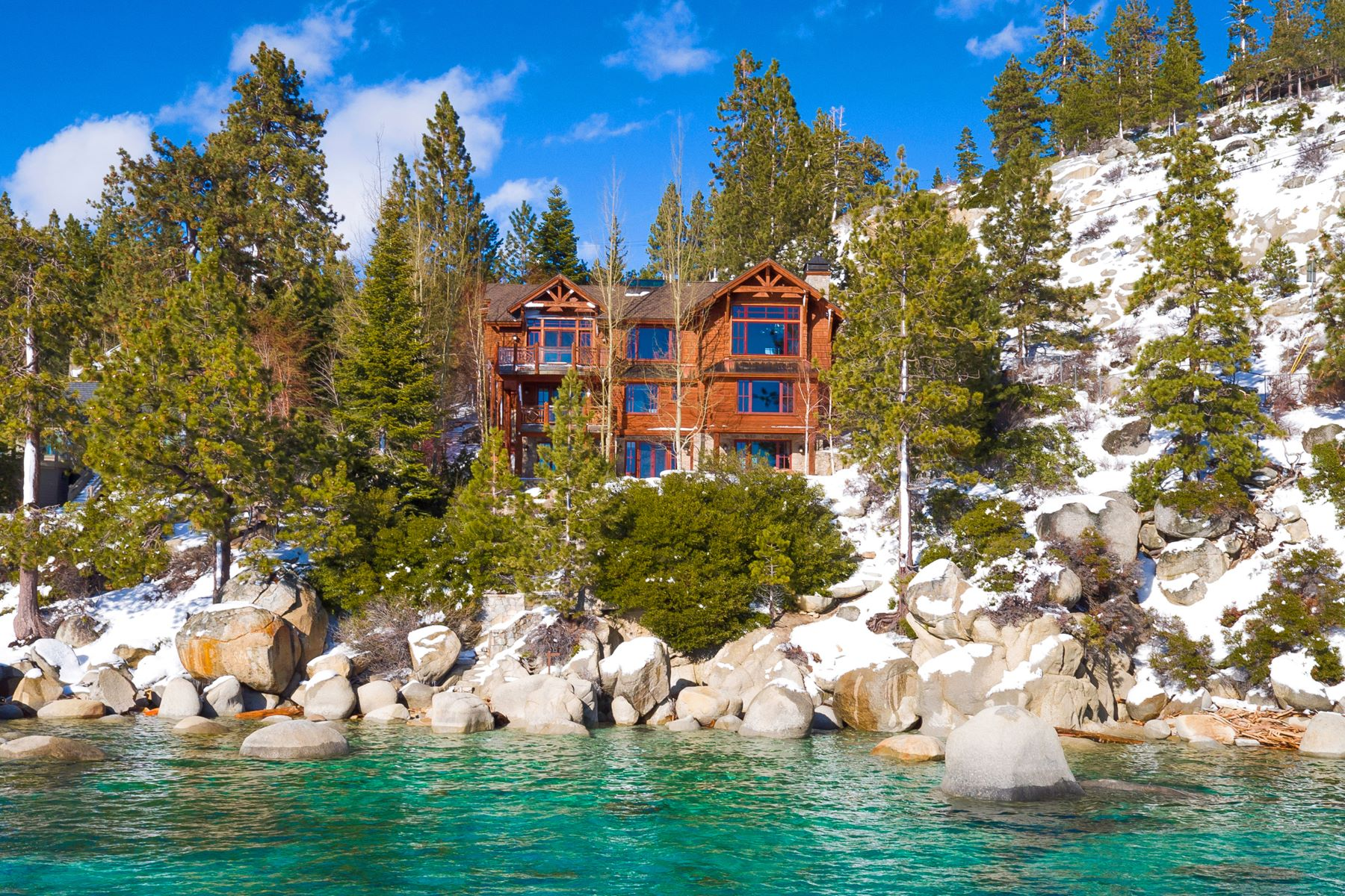 Single Family Homes for Active at Water's Edge 1169 Lakeshore Blvd. Incline Village, Nevada 89451 United States