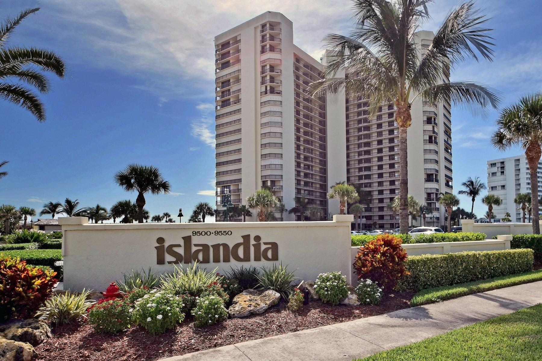 Condominio per Vendita alle ore Islandia Penthouse Condo 9500 S Ocean Drive PH-08 Jensen Beach, Florida 34957 Stati Uniti