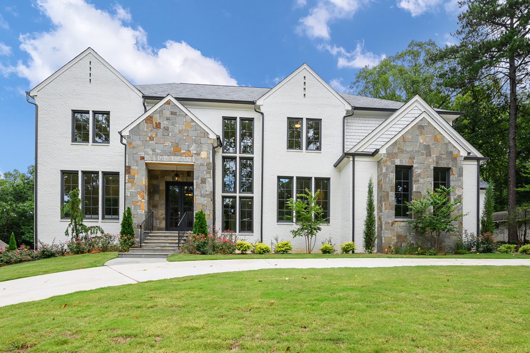 Single Family Homes for Active at Sophisticated Atlanta Country Club Elegance 510 Brook Hollow Circle SE Marietta, Georgia 30067 United States
