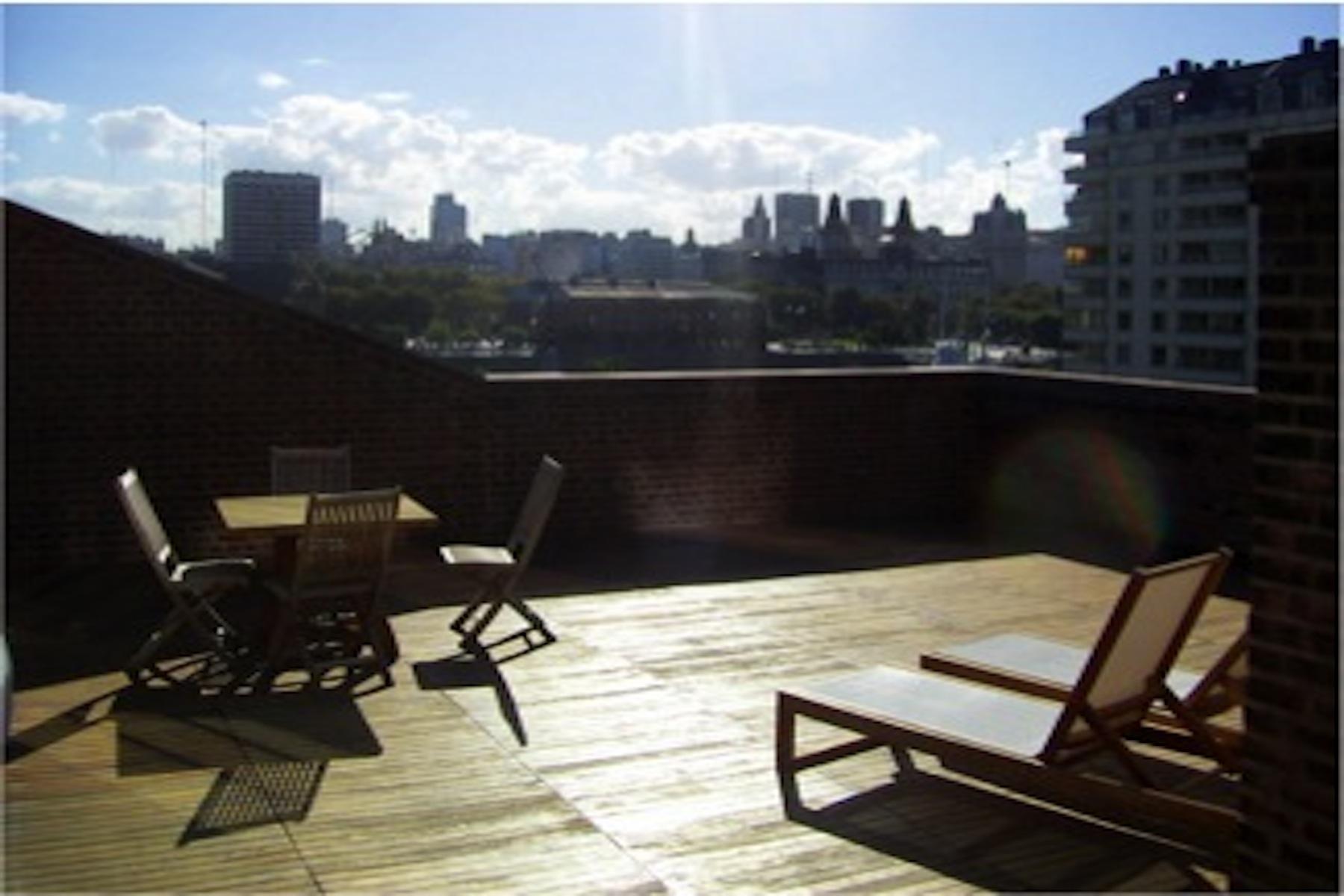 Apartamento para Venda às Sophisticated Duplex in El Porteño building Petrona Eyle 450 Other Argentina, Outras Áreas Na Argentina, 1107 Argentina