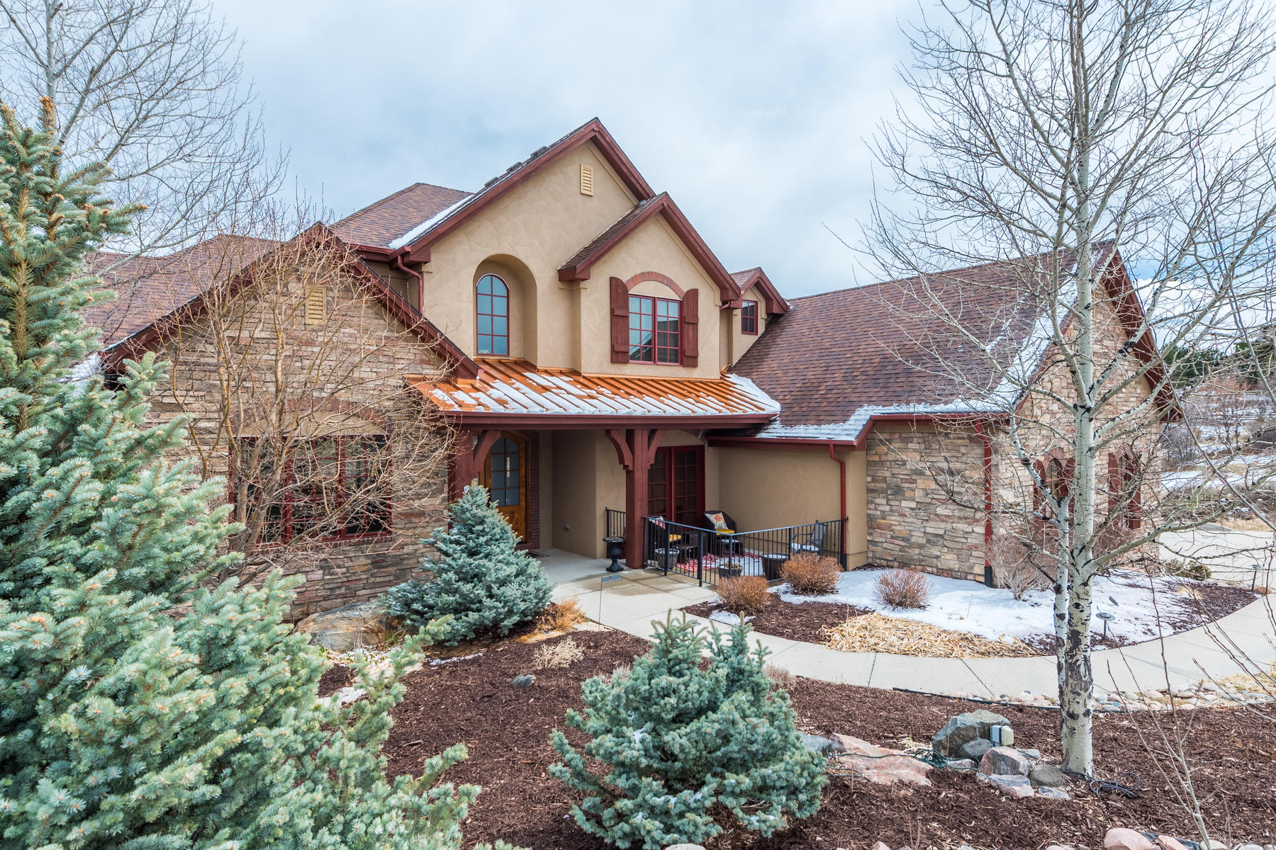 Single Family Home for Active at Beautiful Custom Home Located On A Private Treed Lot Backing To Open Space 5170 Morningside Way Parker, Colorado 80134 United States