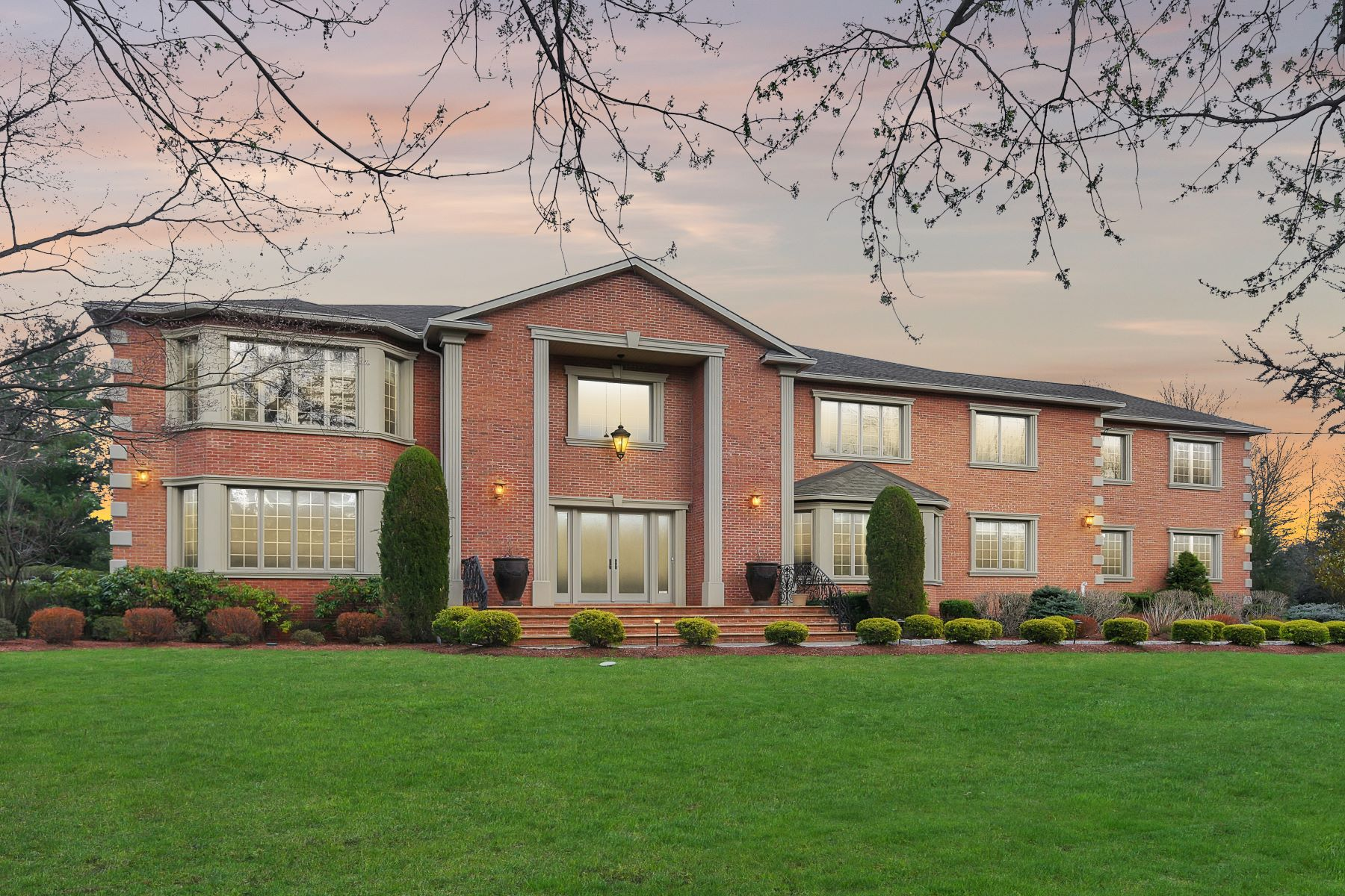 Single Family Homes for Sale at 916 Maria Court Redefines Magnificence 916 Marie Court Franklin Lakes, New Jersey 07417 United States