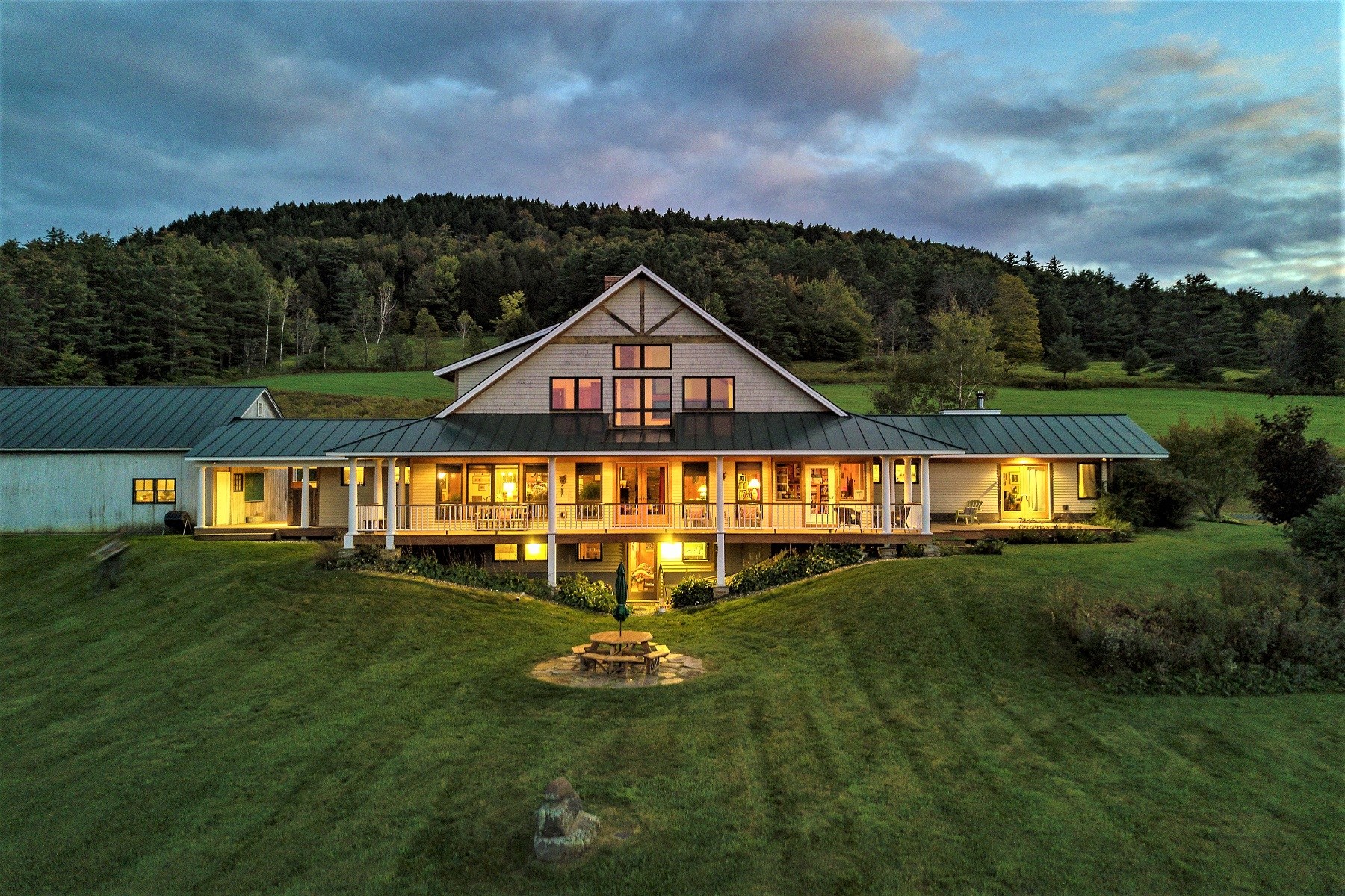 Single Family Homes for Sale at Shepherd's Hill Farm 25 Hartwood Way Hartland, Vermont 05048 United States
