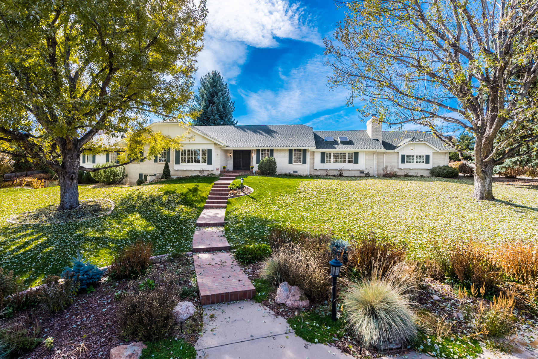 Single Family Home for Active at Cherryridge - rare opportunity to create your dream home 3260 Cherryridge Rd Cherry Hills Village, Colorado 80111 United States