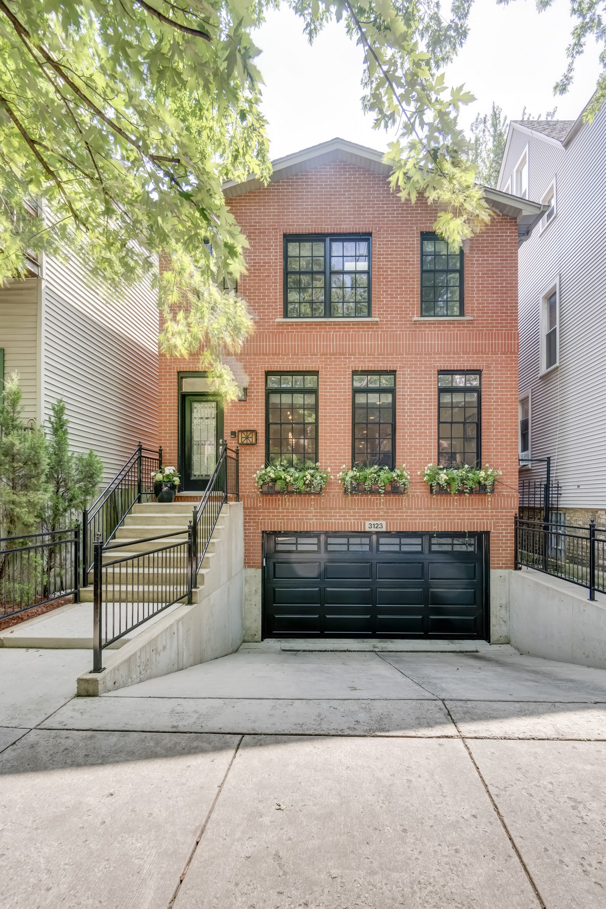 Single Family Home for Sale at Spacious Two Story Home 3123 N Paulina Street Chicago, Illinois, 60657 United States