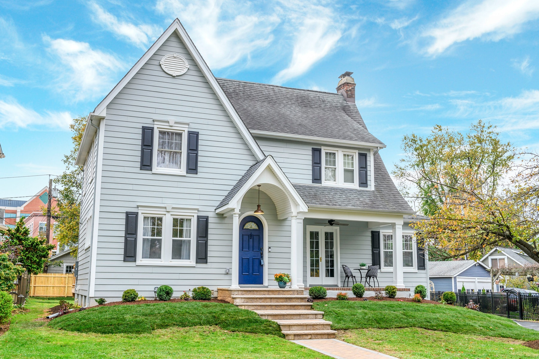 Single Family Homes for Active at Artfully Renovated Colonial 16 Inness Place Montclair, New Jersey 07042 United States