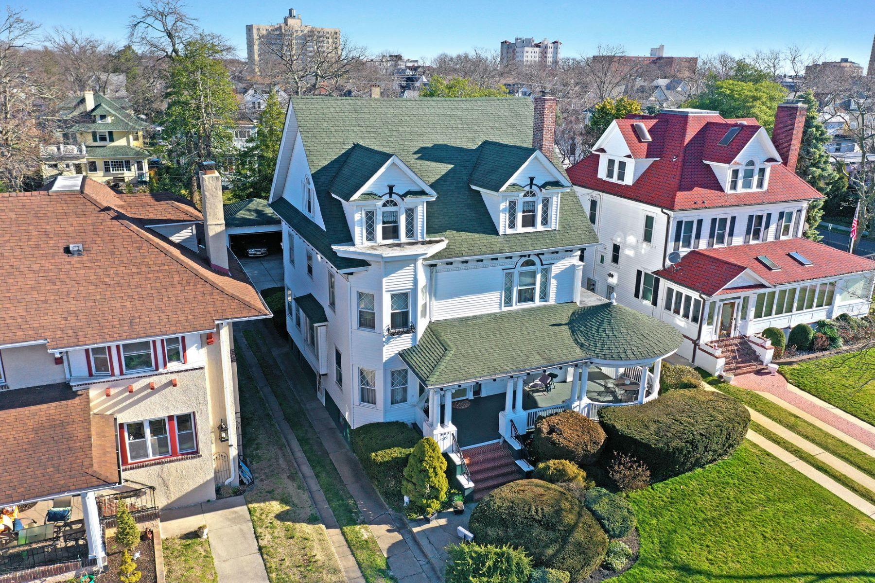 Single Family Homes for Sale at Turn of the Century Home 605 Sunset Avenue Asbury Park, New Jersey 07712 United States