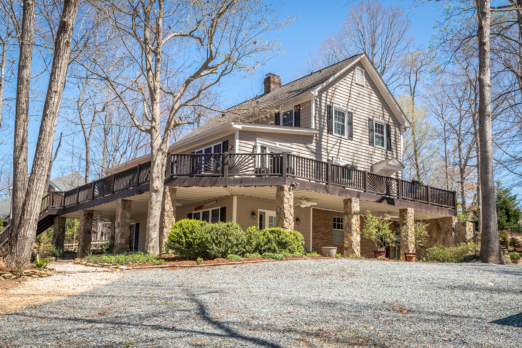 Single Family Home for Active at HIGH ROCK MOUNTAIN SHORES 762 Mountain Shore Drive Denton, North Carolina 27239 United States