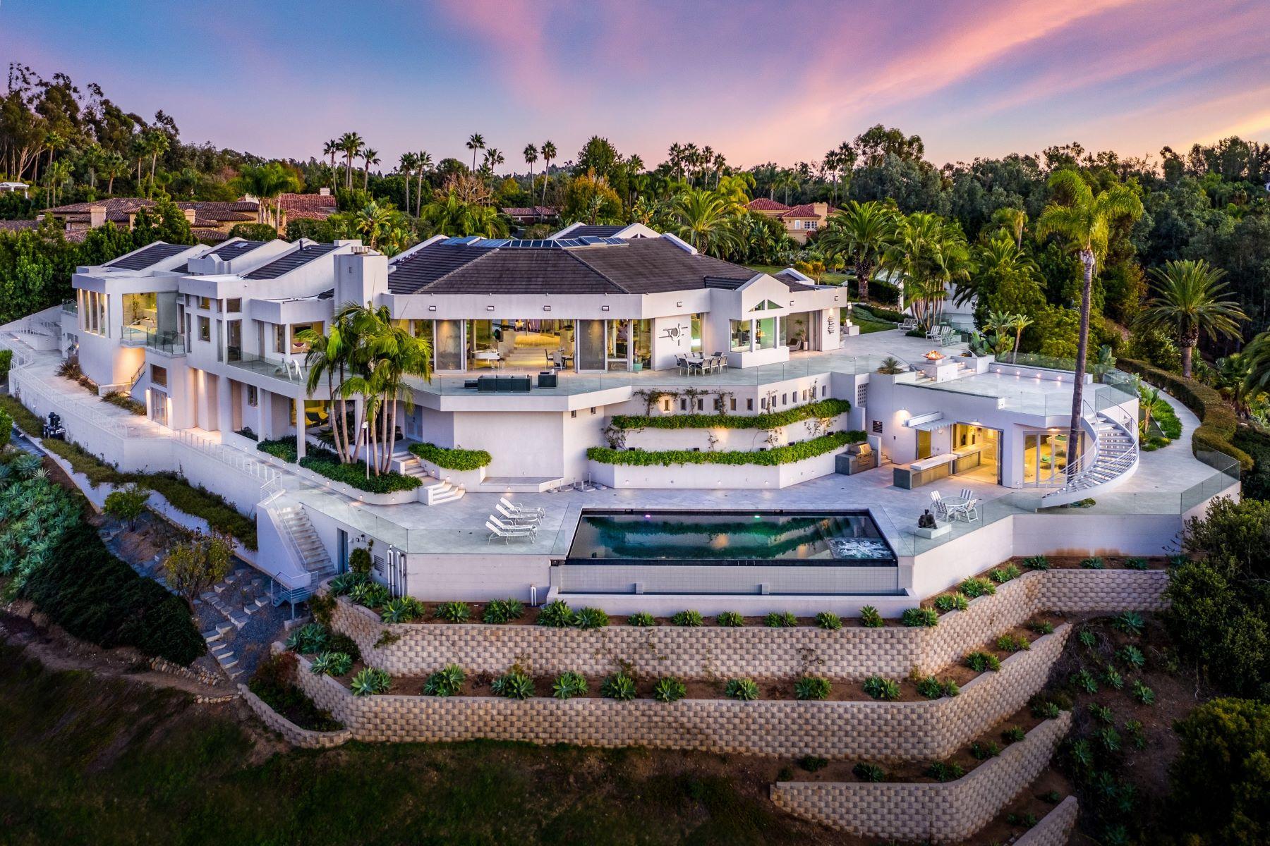 Single Family Homes for Sale at Live Epic 6002 Via Posada Del Norte Rancho Santa Fe, California 92067 United States