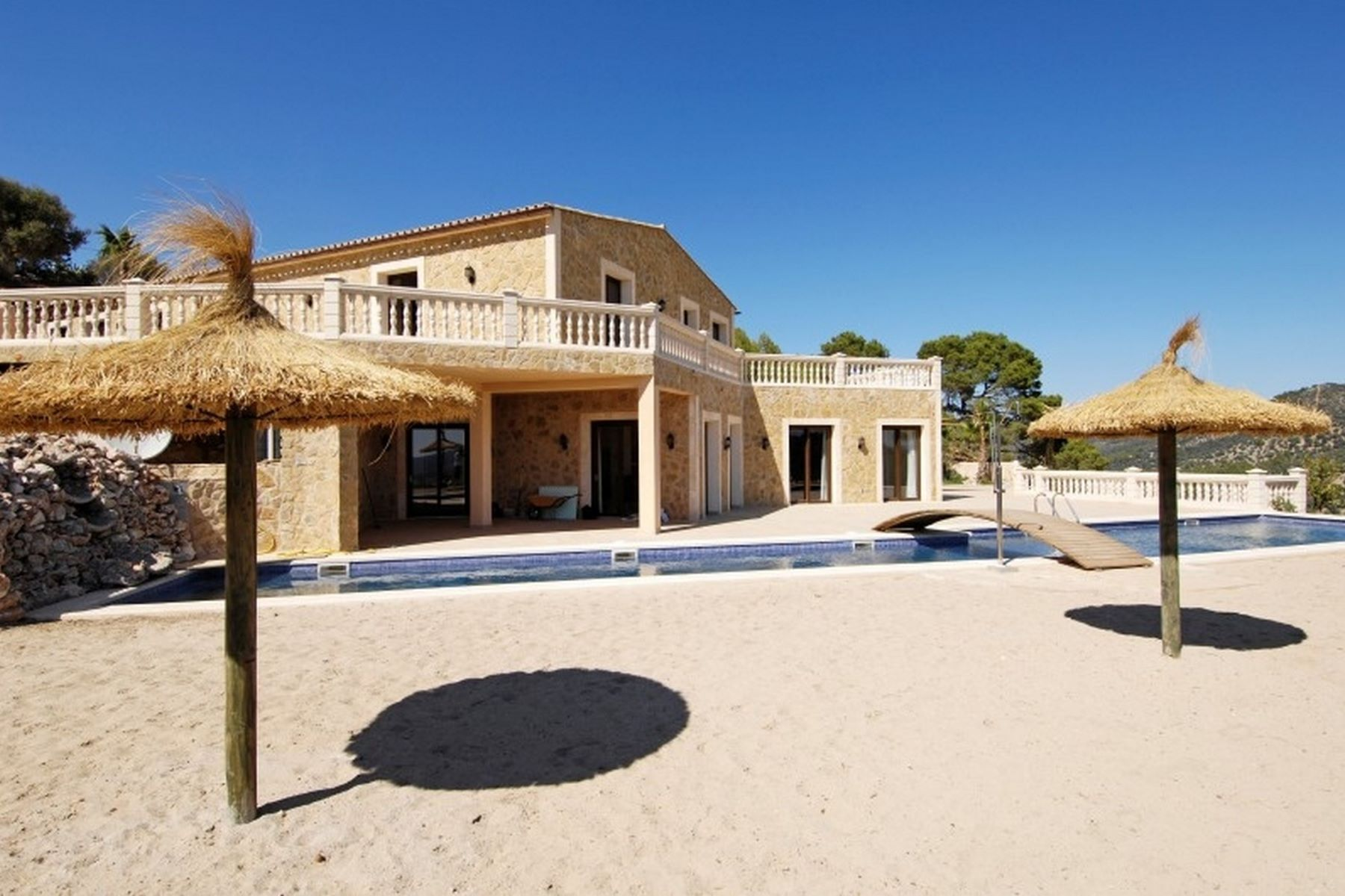 Single Family Homes for Sale at Newly built finca in Alaró Alaro, Mallorca Spain