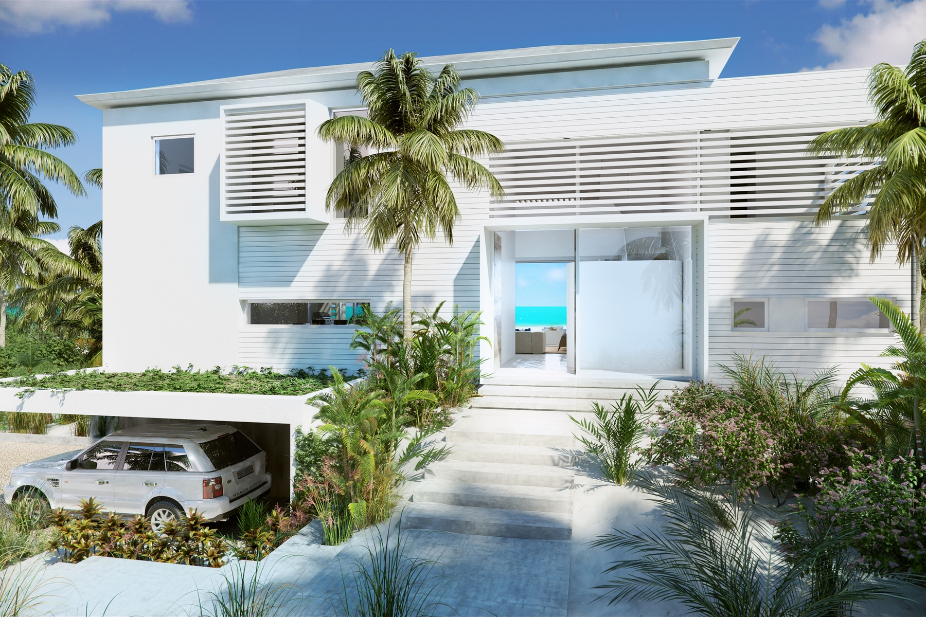 Additional photo for property listing at BEACH ENCLAVE GRACE BAY Design C Oceanview 格蕾斯湾, 普罗维登夏 TKCA 1ZZ 特克斯和凯科斯群岛