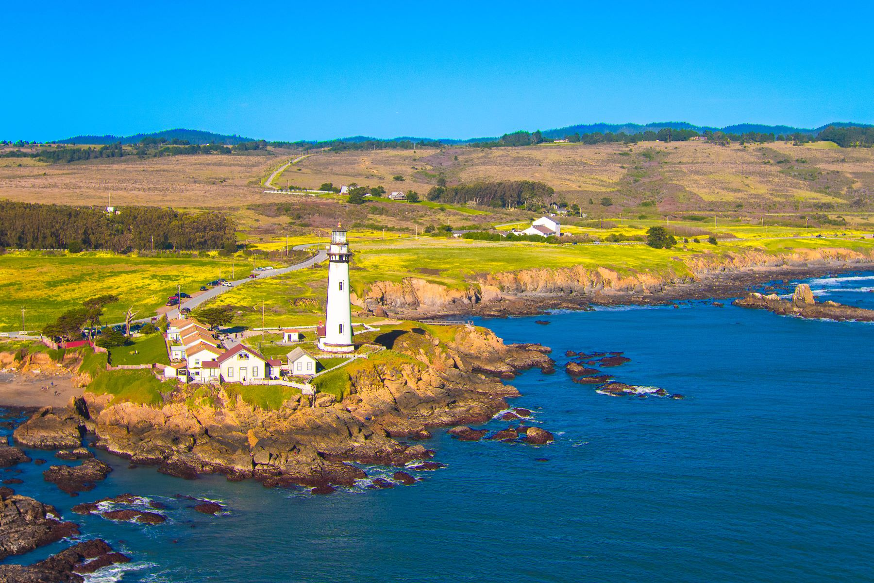 Farm / Ranch / Plantation للـ Sale في Bolsa Point Ranch 9050 Cabrillo Highway Pescadero, California 94060 United States