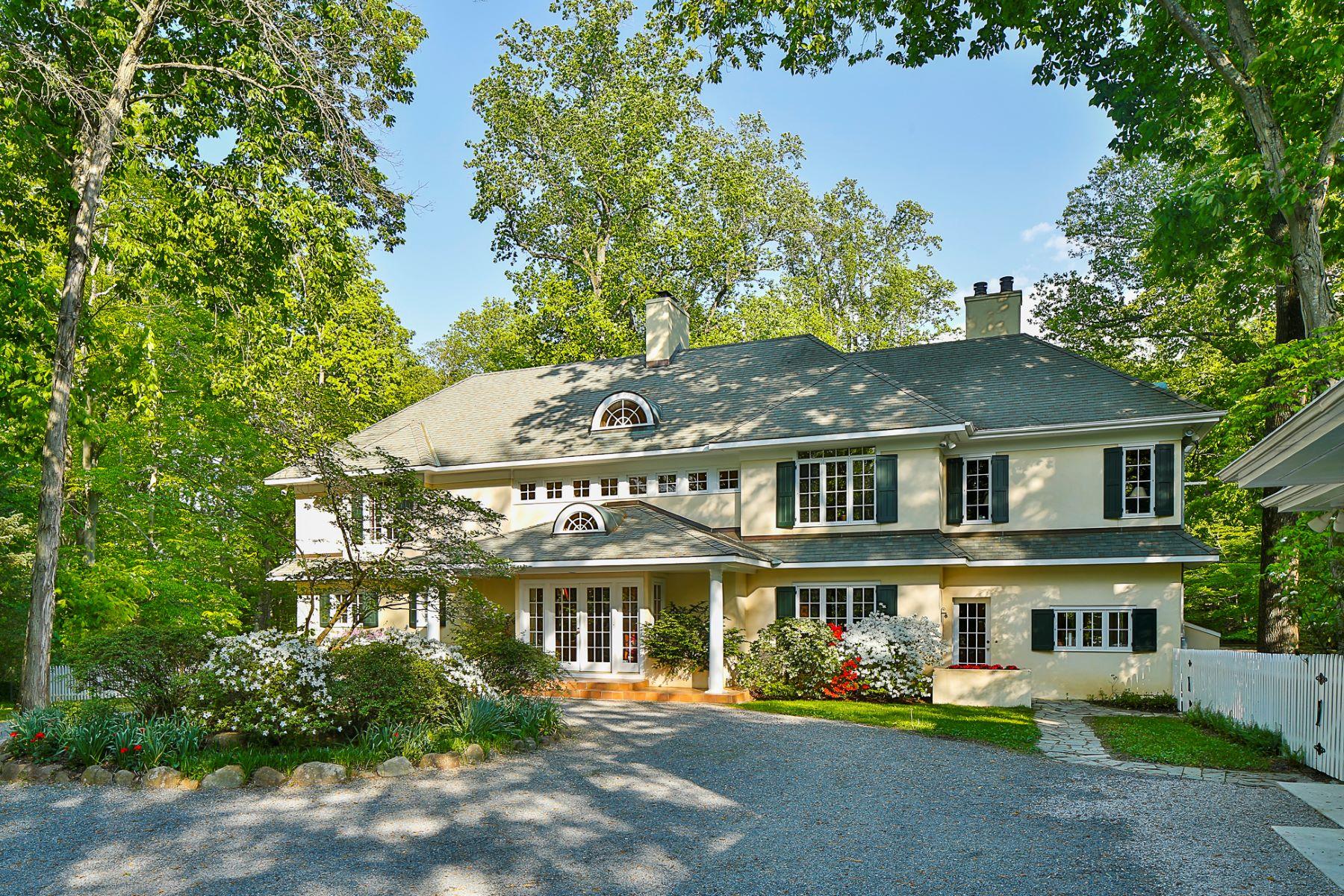 Maison unifamiliale pour l Vente à Privacy, Peace, Tranquility 188 Cherry Valley Road Princeton, New Jersey, 08540 États-Unis