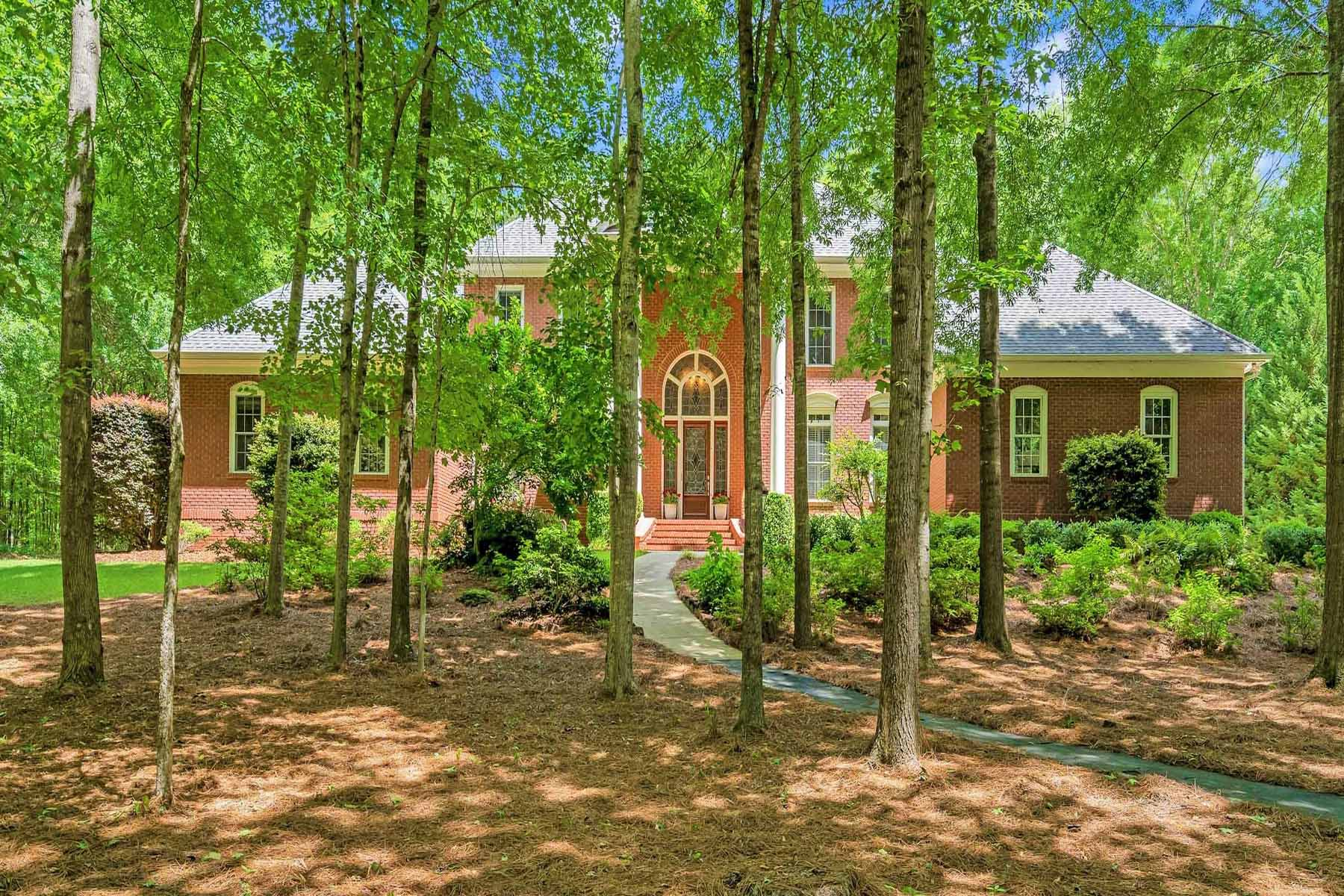 Single Family Homes for Active at Exquisite Custom-Built Home in Historic Madison 1065 Saye Creek Drive Madison, Georgia 30650 United States