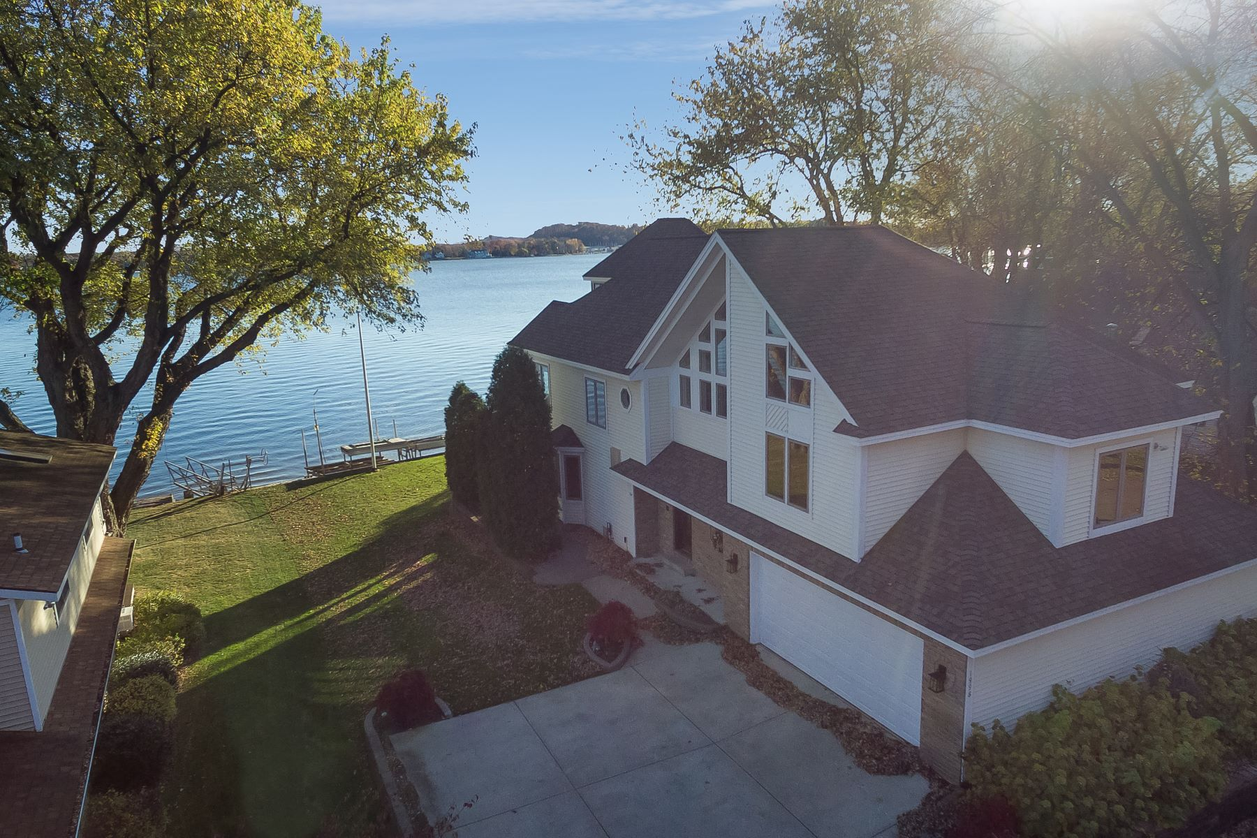 Single Family Home for Sale at Custom Home Built With Spectacular Views Of Lake Macatawa 1998 Lake Street Holland, Michigan, 49424 United States