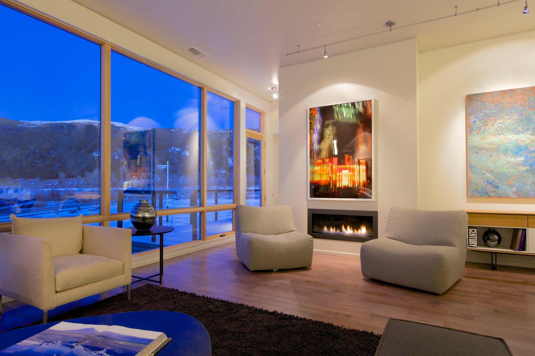 Кондоминиум для того Продажа на Park Modern in Willits 102 Evans Road, Unit 101, Basalt, Колорадо, 81621 Соединенные Штаты