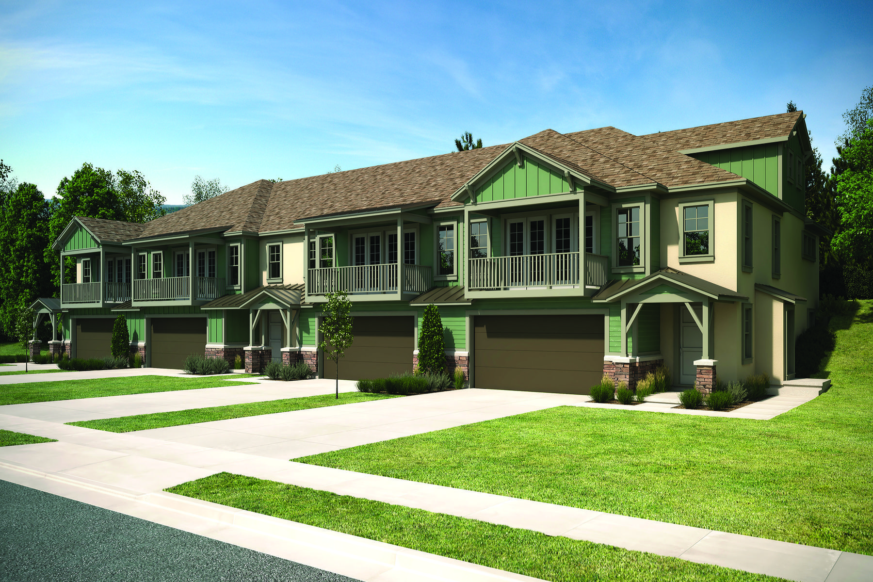 联栋屋 为 销售 在 New Wasatch Springs Townhouse Close to Patk City 1097 Cattail Ct # G4 希伯城, 犹他州, 84032 美国