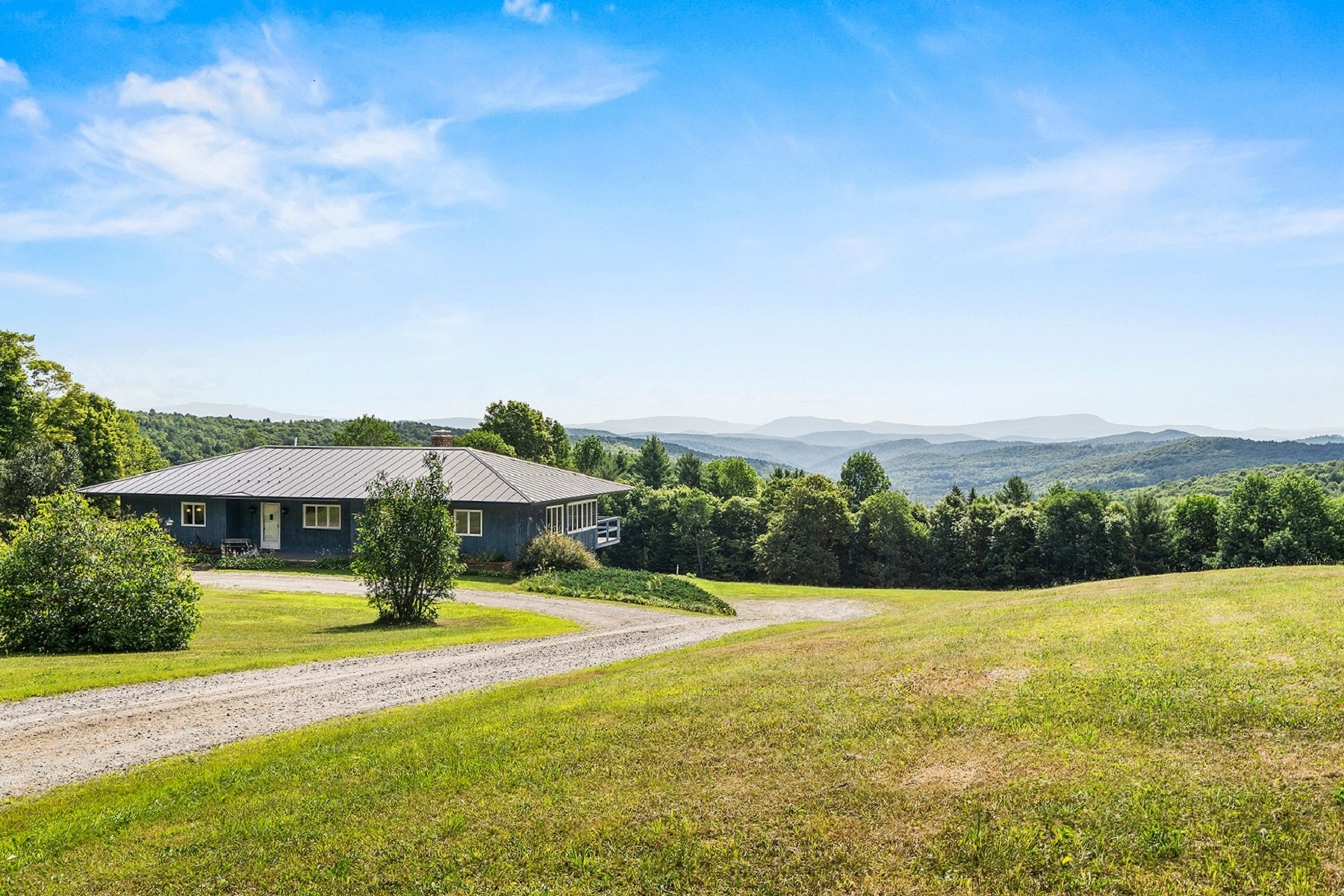 Single Family Homes for Sale at Mid-Century Modern Home 397 McIver Road Vershire, Vermont 05079 United States