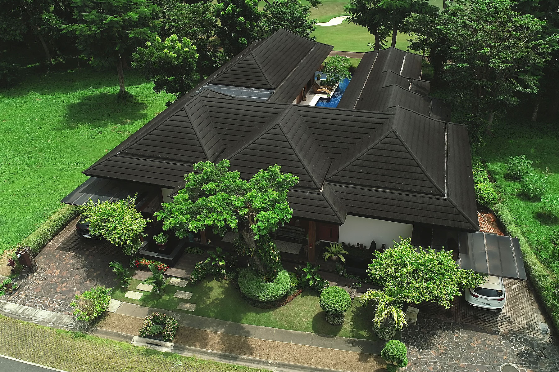 Single Family Home for Sale at A Stunning Four Bedroom Balinese Villa at Sta. Elena Golf and Country Club 4026 Philippines