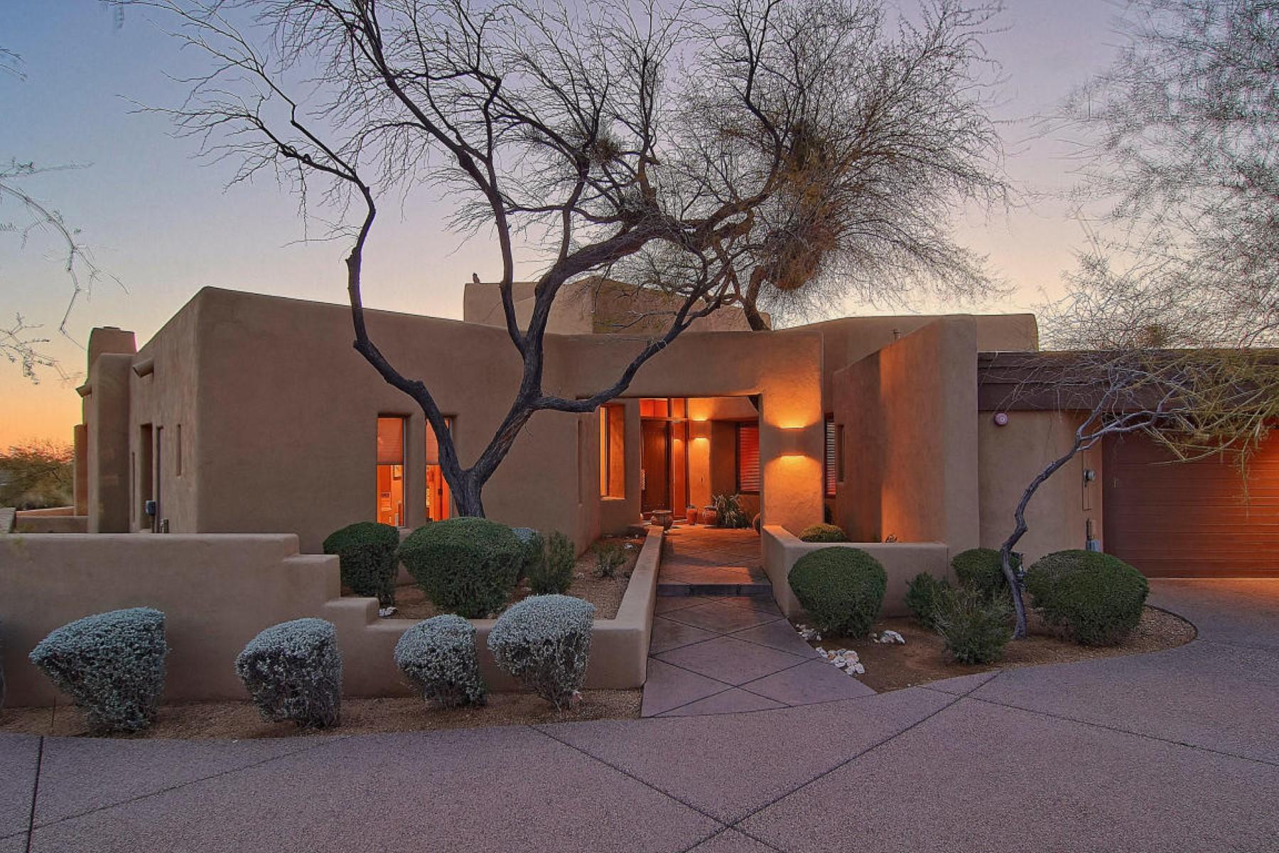 独户住宅 为 销售 在 Charming Cochise Ridge home in Scottsdale 41528 N 107th Way, 斯科茨代尔, 亚利桑那州, 85262 美国