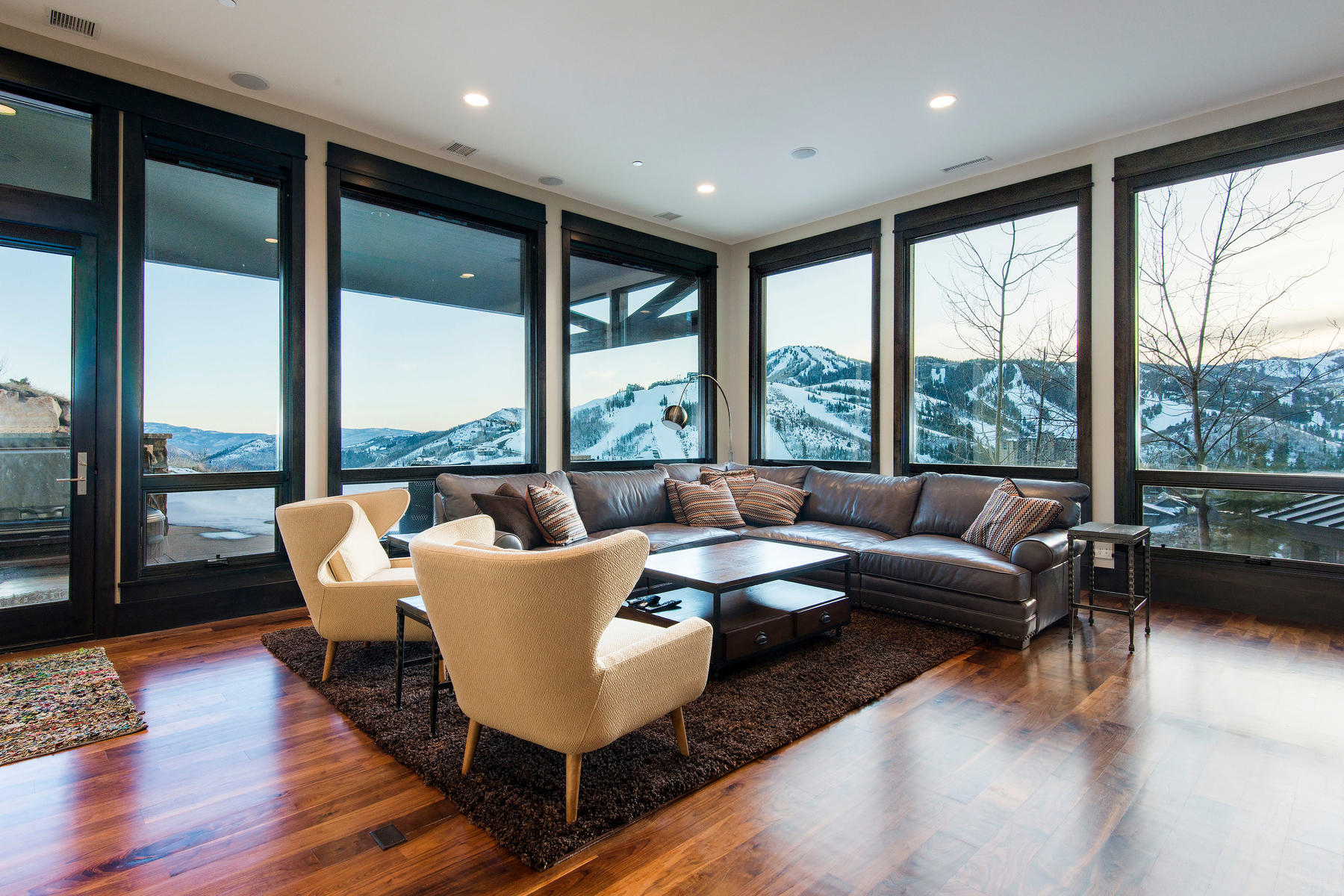 Additional photo for property listing at Deer Valley Mountain Contemporary Masterpiece! 11380 N Snowtop Rd Park City, Utah 84060 United States