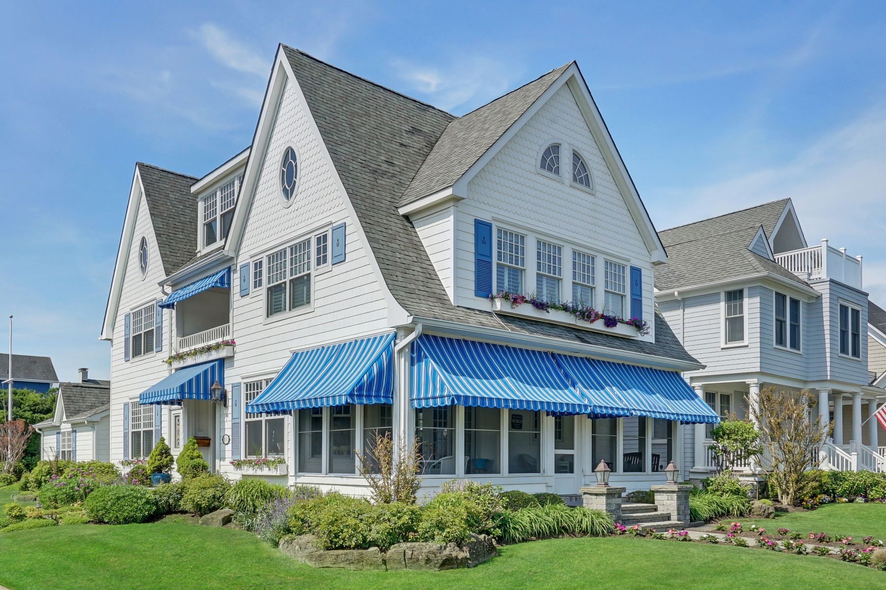 Single Family Homes for Sale at Seashore Colonial 100 Chicago Boulevard Sea Girt, New Jersey 08750 United States