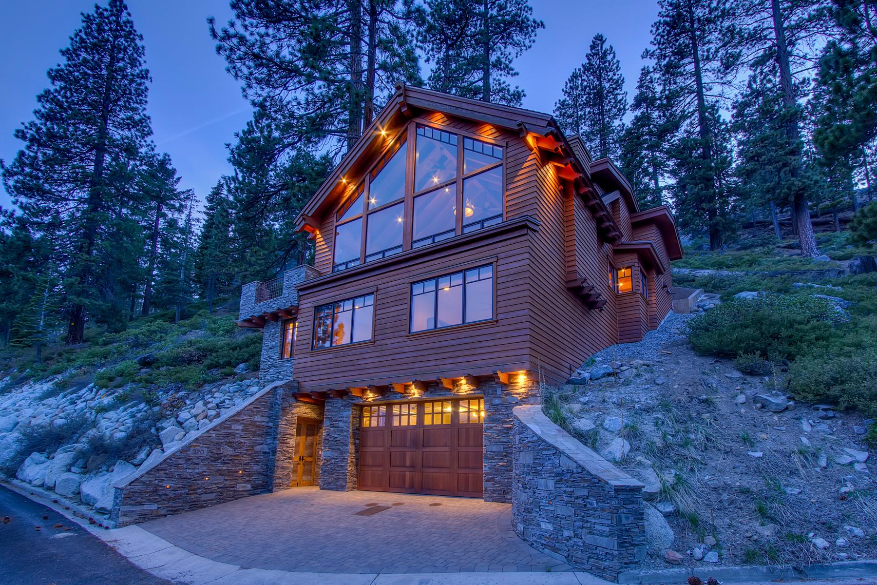 Single Family Home for Sale at 320 Anaho Road, Crystal Bay, Nevada Crystal Bay, Nevada, 89402 Lake Tahoe, United States