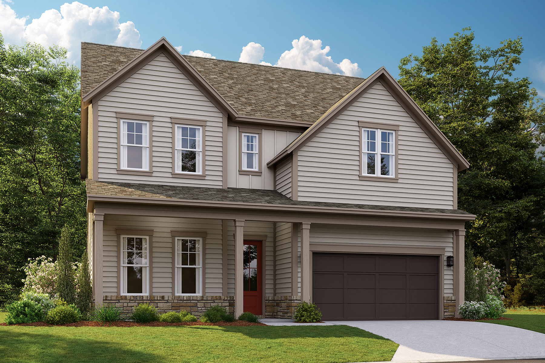 Single Family Homes for Sale at Discover The Enclave at Belvedere 3400 Alcan Way Tucker, Georgia 30084 United States