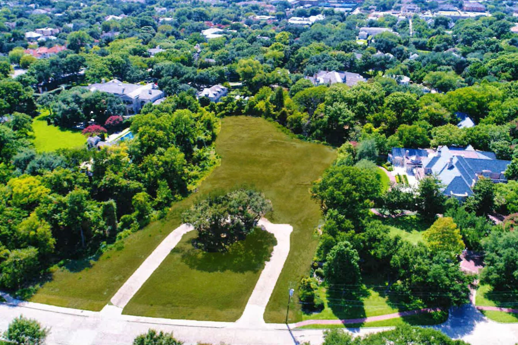 Land for Sale at One of the Finest Estate Lots to be Offered in the Park Cities 6905 Vassar Avenue University Park, Texas 75205 United States