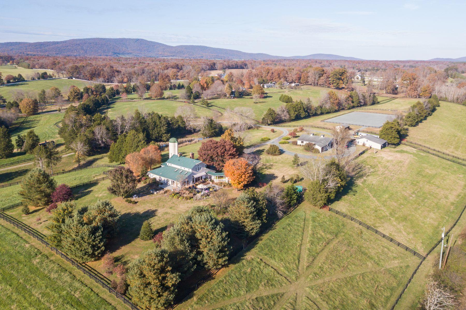 Farm / Ranch / Plantation for Sale at Cobham Creek Farm 1093 ST JOHN RD Keswick, Virginia 22947 United States