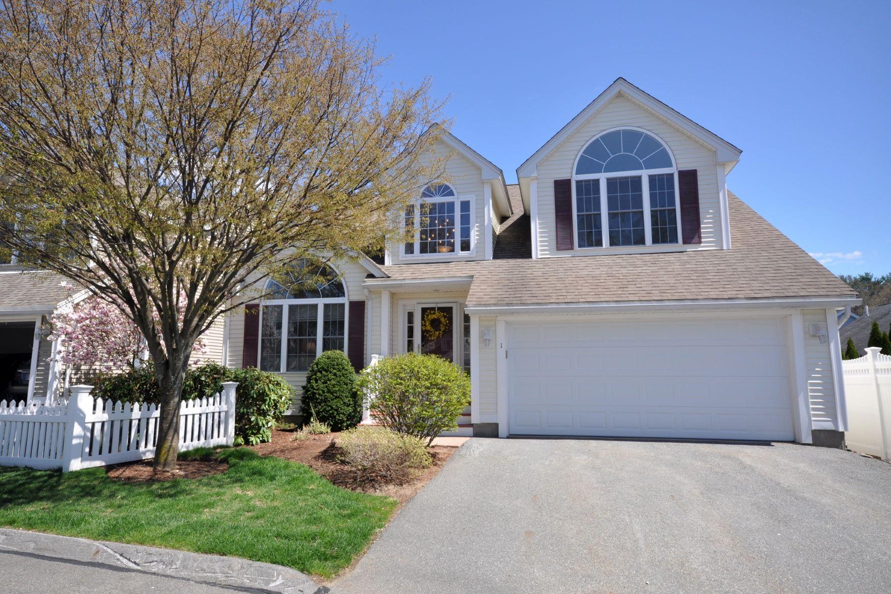 Condominium for Active at 1 Dornoch Circle 1, Chelmsford 1 Dornoch Cir 1 Chelmsford, Massachusetts 01863 United States