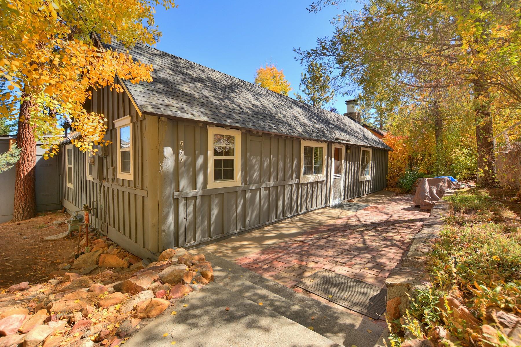 独户住宅 为 销售 在 565 Talmadge Road 大熊湖, 加利福尼亚州, 92315 美国