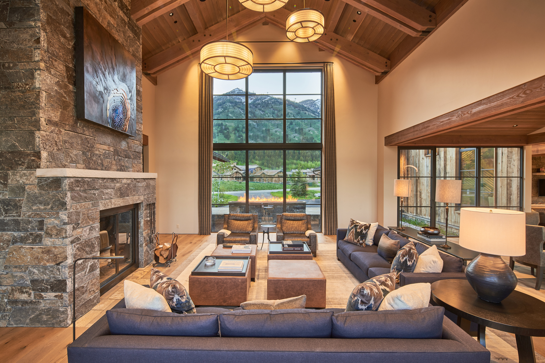 Single Family Homes للـ Sale في Shooting Star Splendor 7070 JENSEN CANYON RD, Teton Village, Wyoming 83025 United States