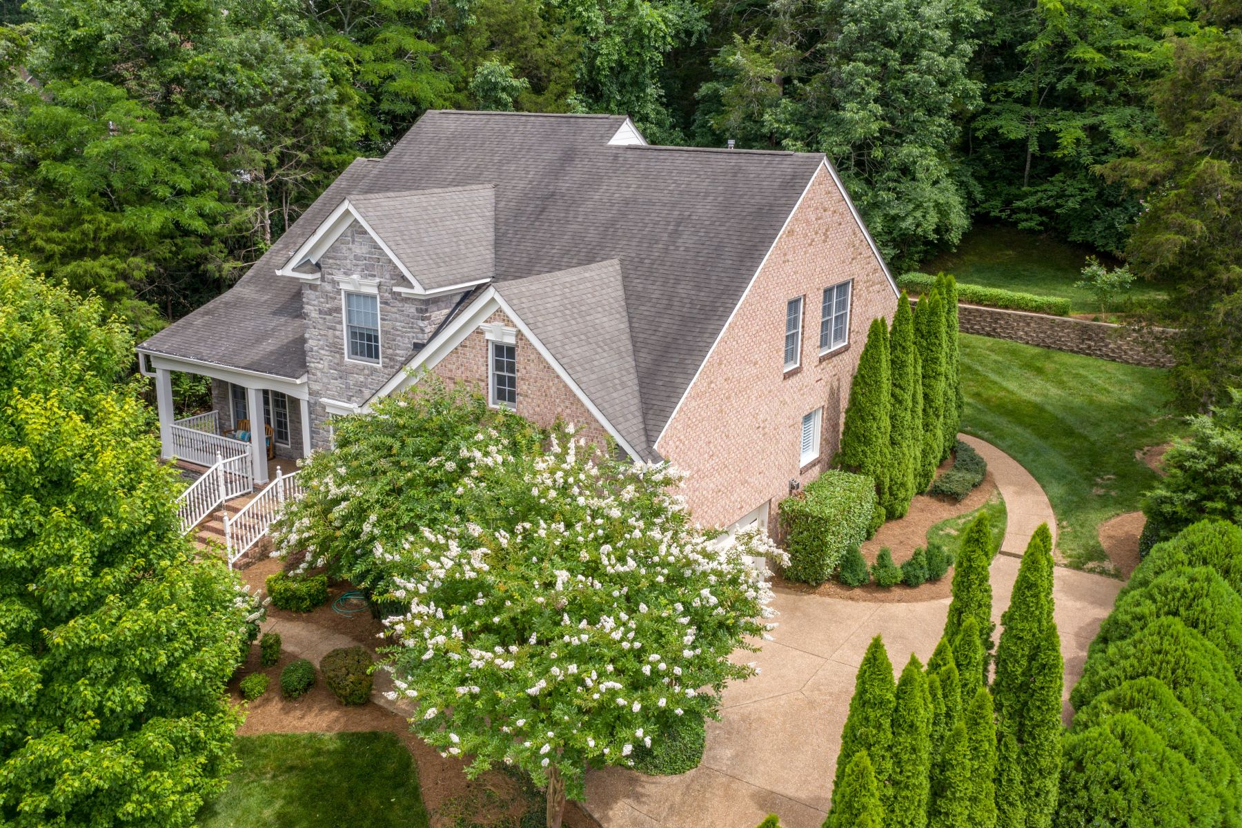 single family homes for Sale at Beautiful Home with Outstanding Privacy! 1127 Stonebridge Park Drive Lot 717 Franklin, Tennessee 37069 United States